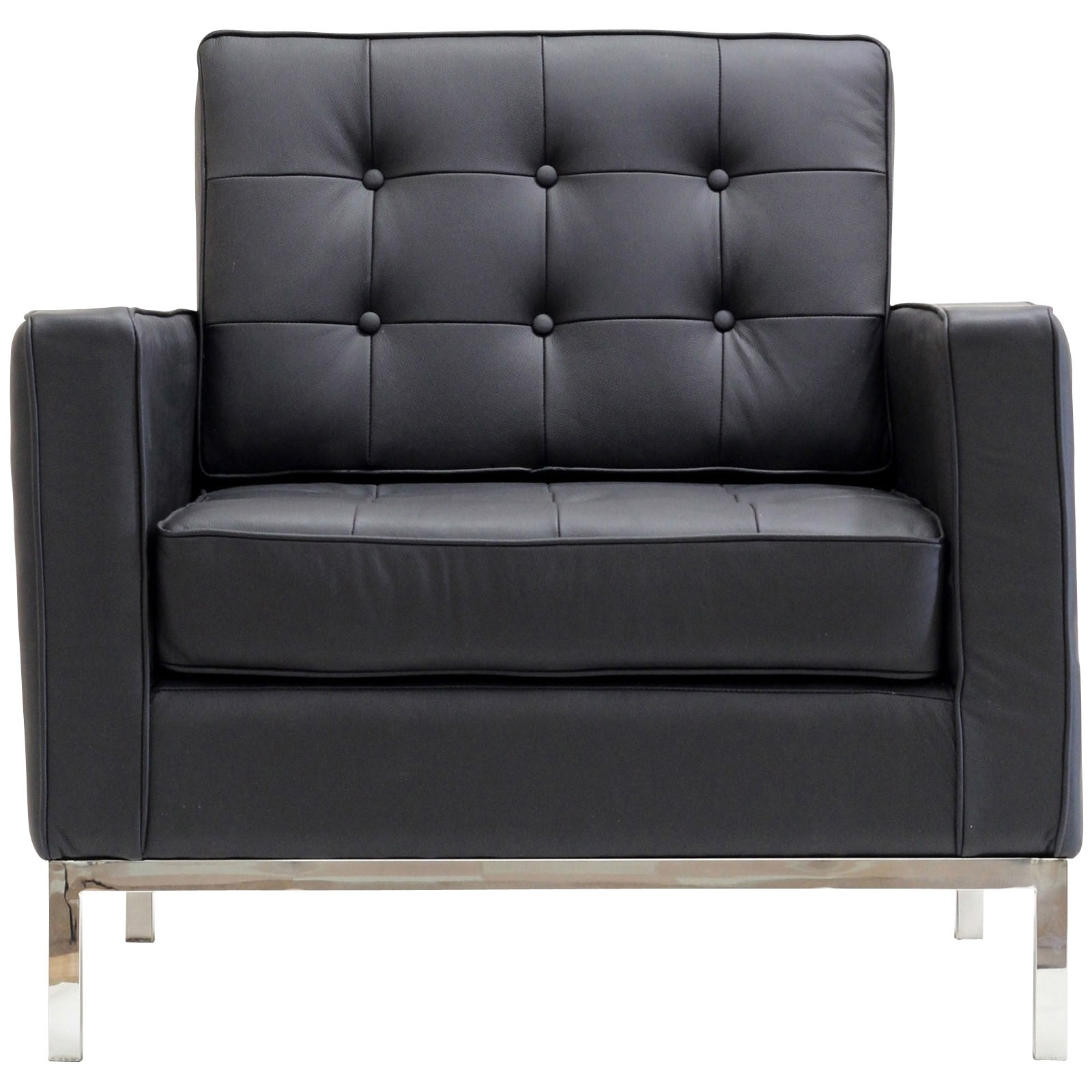 Florence Knoll Style Arm Chair – Leather With Newest Florence Knoll Leather Sofas (View 9 of 20)