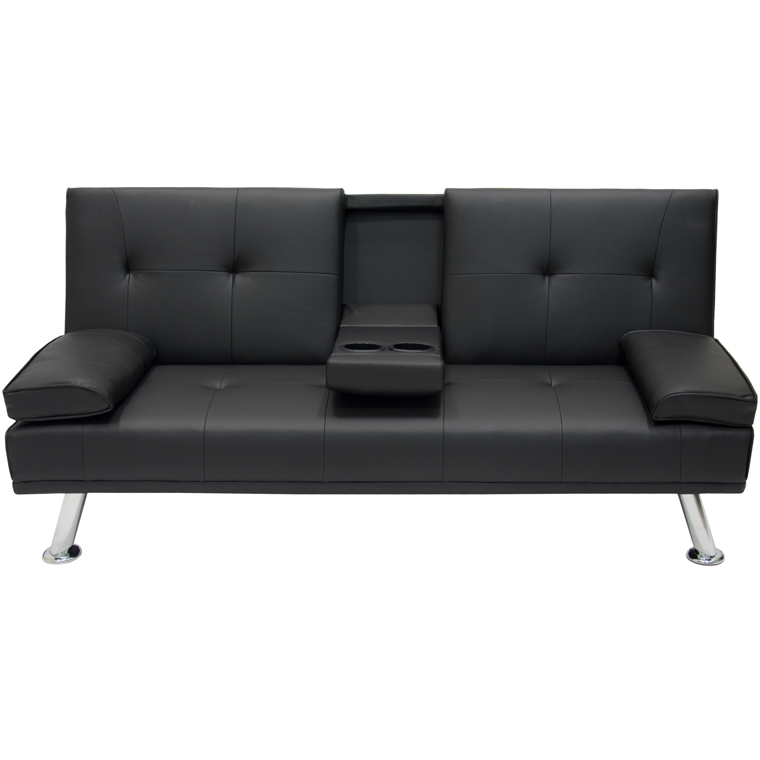 Fold Up Sofa Chairs Within Famous Bestchoiceproducts (View 14 of 20)