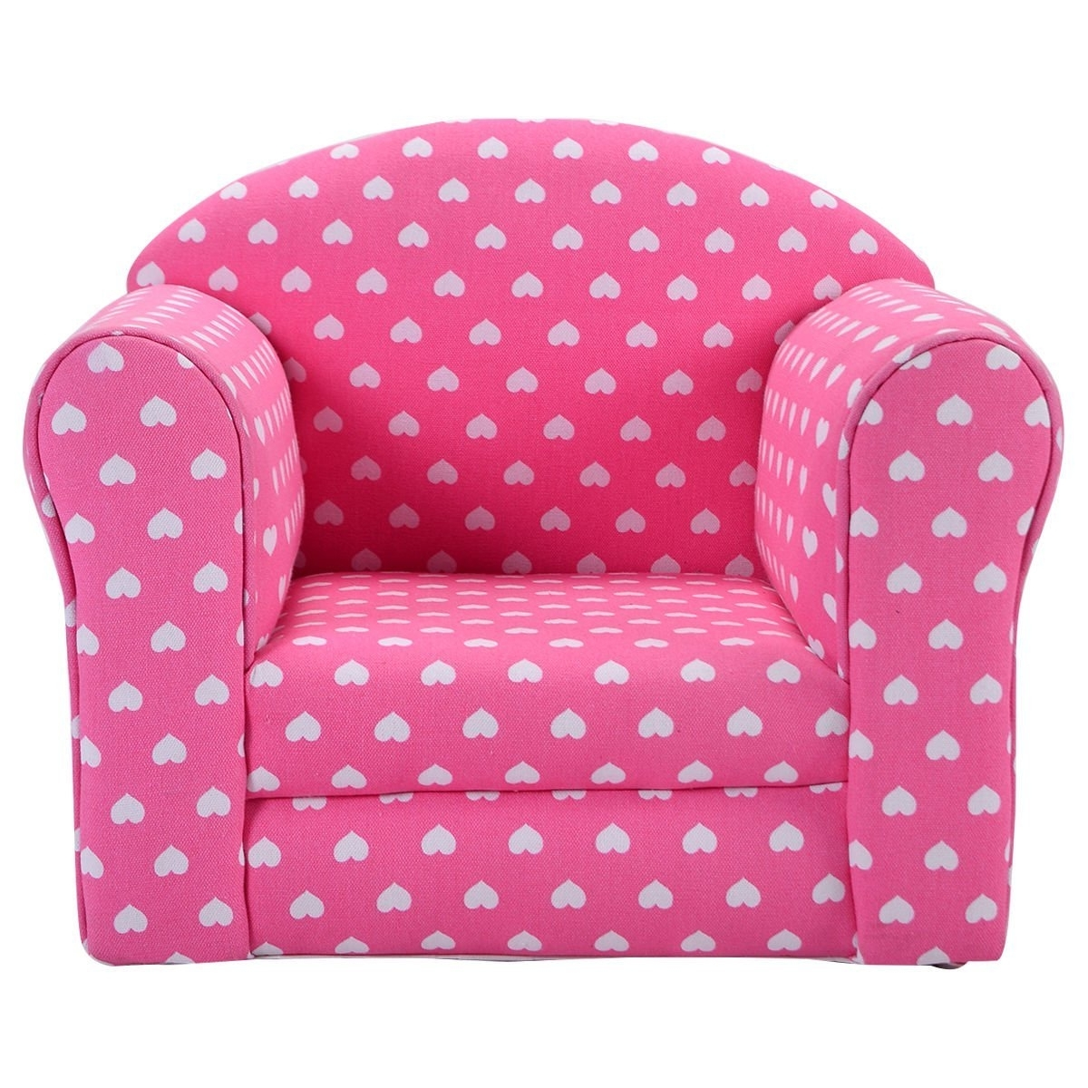 Folding Sofa Chairs In Recent Sofa : Childrens Folding Sofa Toddler Leather Chair Marshmallow (View 8 of 20)