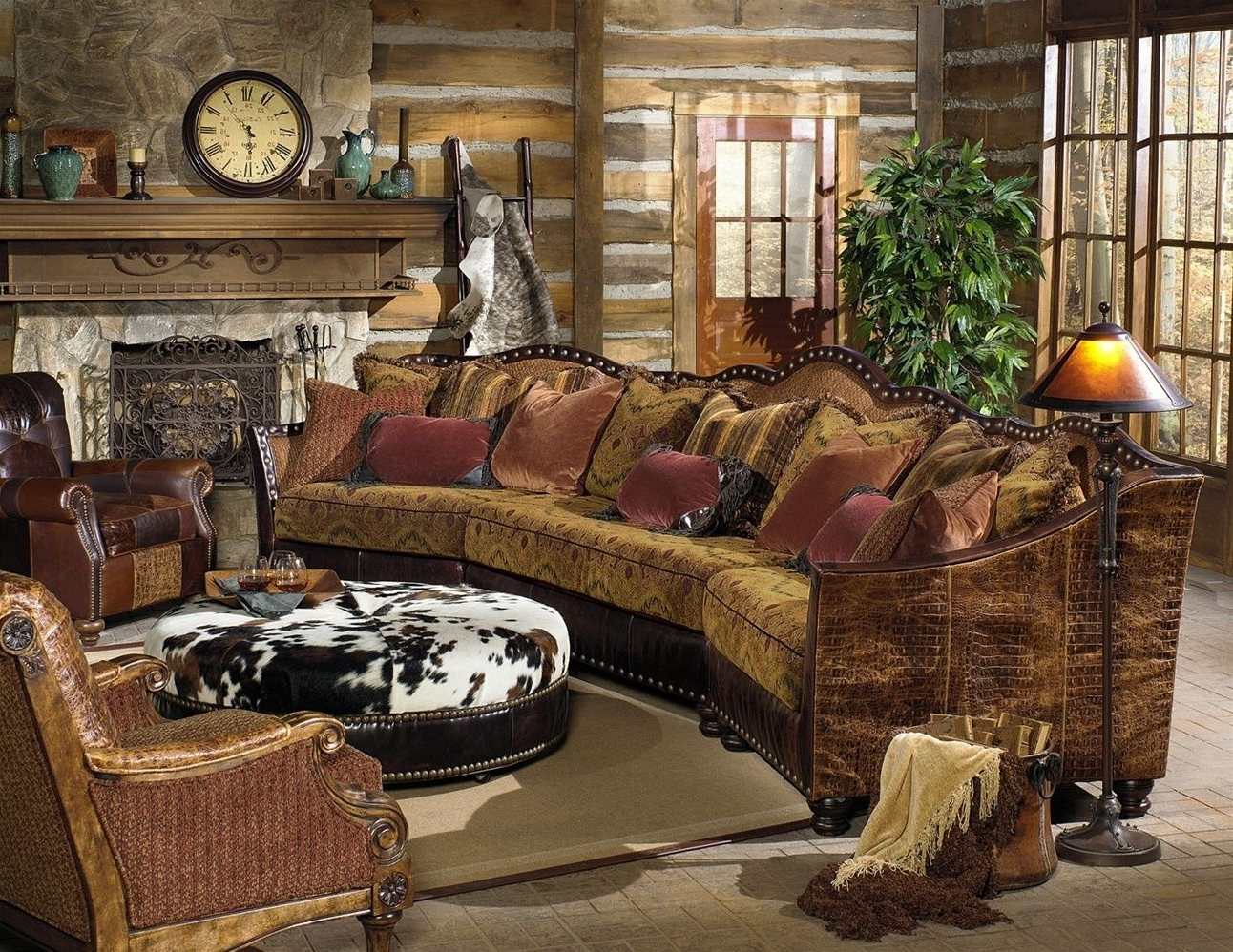 For Inside Most Popular Western Style Sectional Sofas (View 4 of 20)