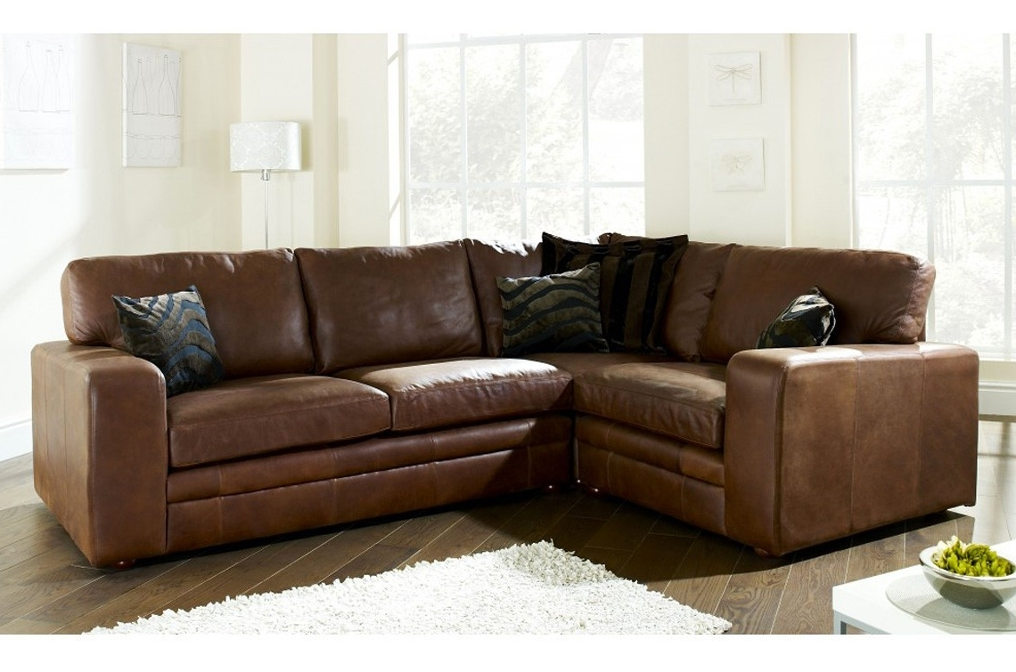 For Regarding Leather Corner Sofas (View 4 of 20)