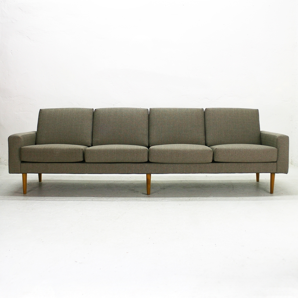 Four Seater Sofas For Fashionable Mid Century Modern Four Seater Sofa For Sale At Pamono (View 5 of 20)