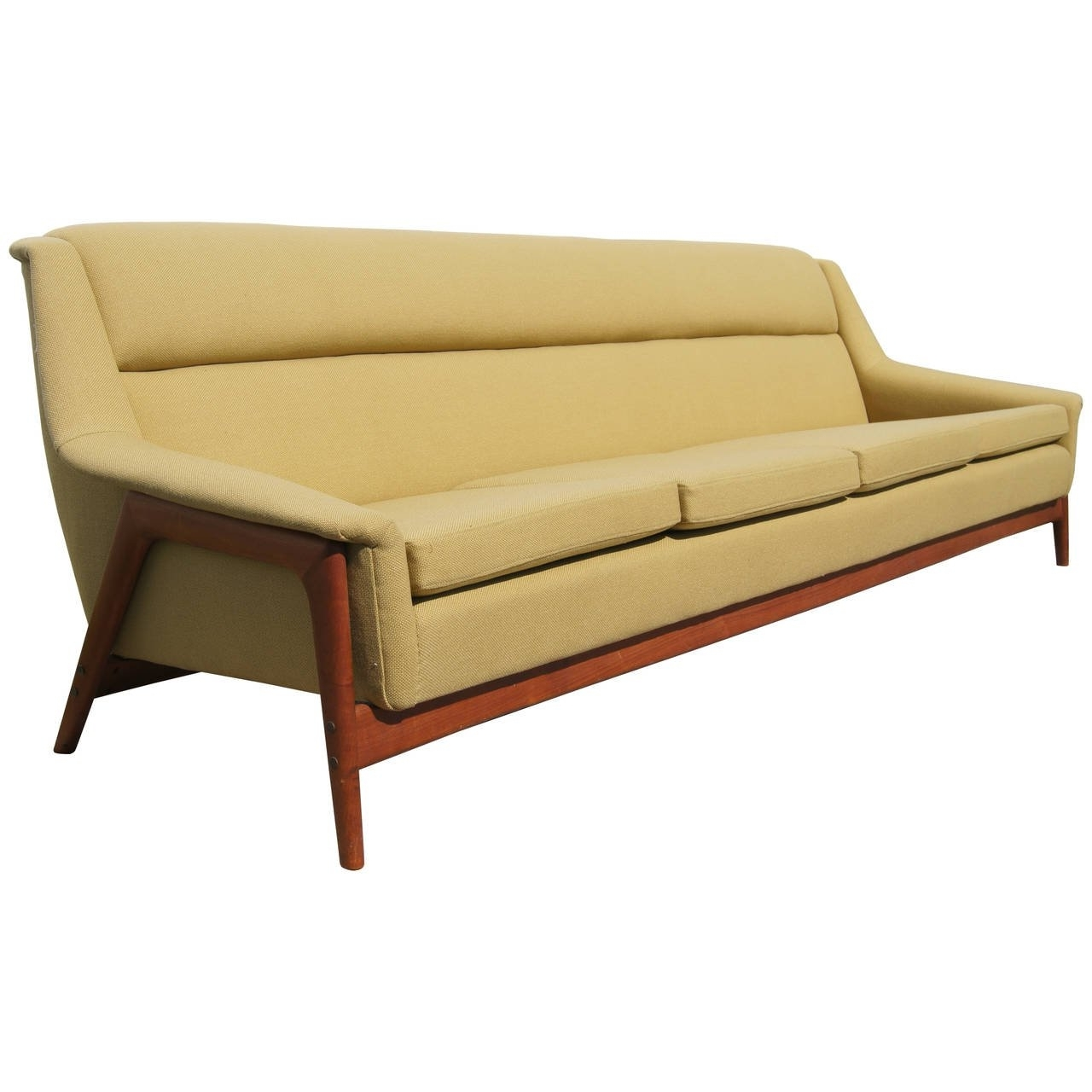 Four Seater Sofas Intended For Well Known Four Seater Sofafolke Ohlsson For Dux At 1Stdibs (View 7 of 20)