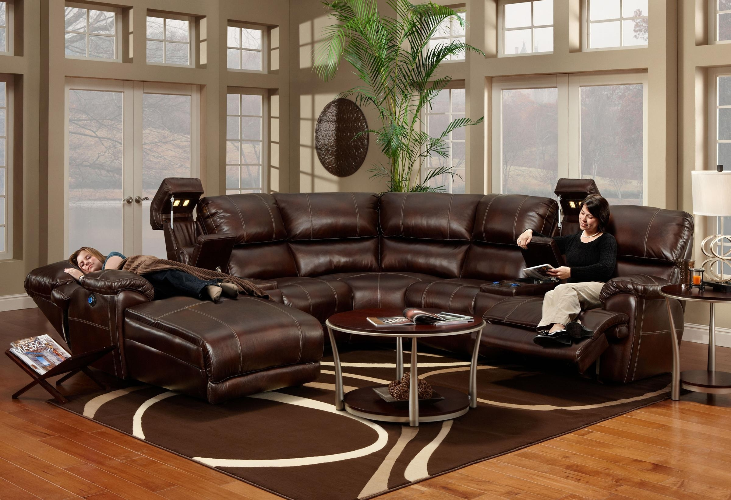 Franklin 572 Reclining Sectional Sofa With Chaise U2013 Ahfa U2013 Sofa Inside  Trendy St Cloud Mn