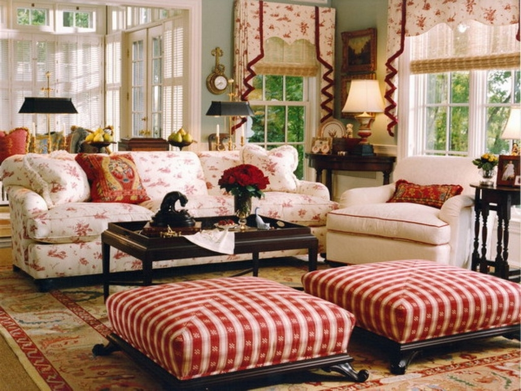 French Country Living Room Sets Cottage Sofas And Loveseats Style Pertaining To Most Recent Cottage Style Sofas And Chairs (View 14 of 20)