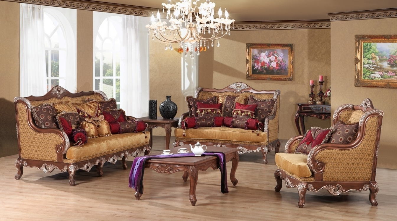 French Country Sofa Living Room Elegant Sofas Living Room Round Inside 2018 Country Sofas And Chairs (View 9 of 20)