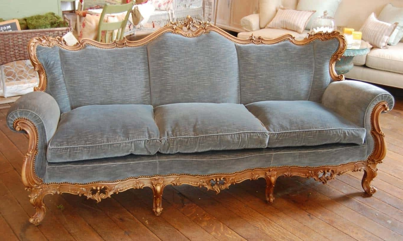 French Style Sofas Inside Widely Used Sofa French Country Style : Country Style  Sofa U2013 Ultimatechristoph