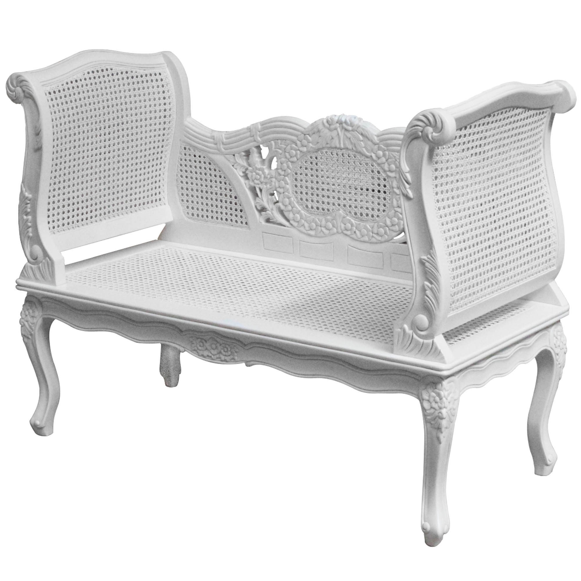 French Style Sofas Pertaining To Well Liked Rattan Antique French Style Sofa – French Furniture From (View 7 of 20)