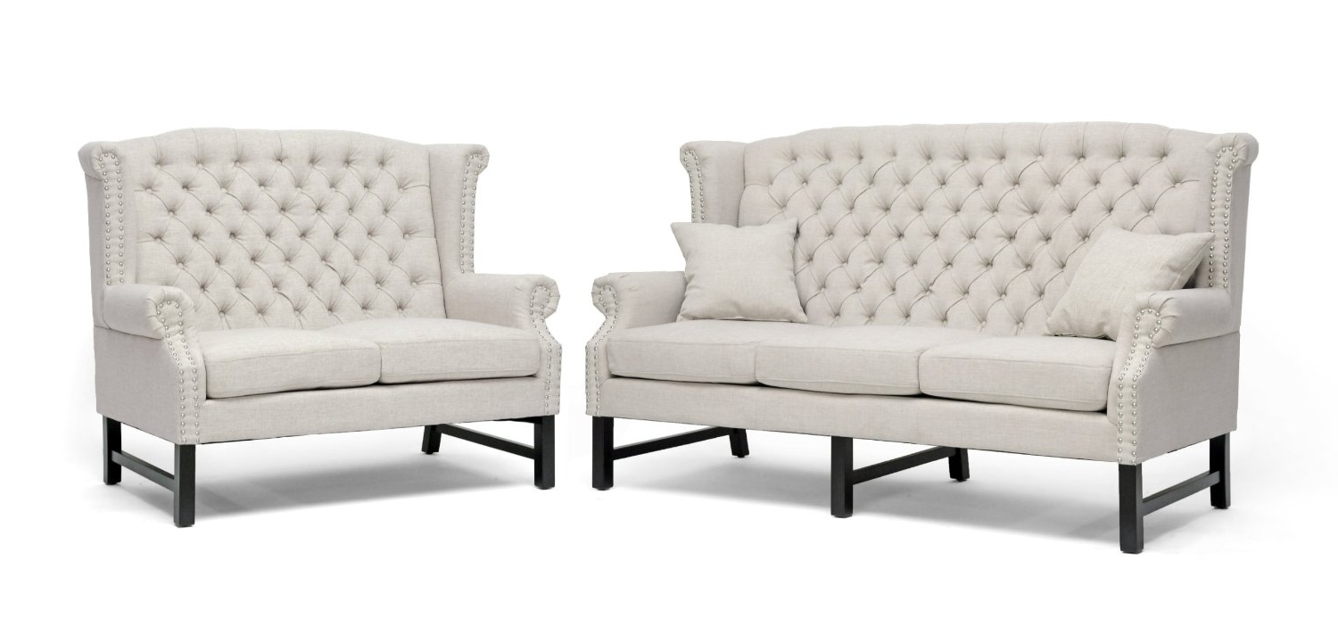 Fresh Dallas White Tufted Sofa Bed #25717 Regarding 2018 Affordable Tufted Sofas (View 8 of 20)