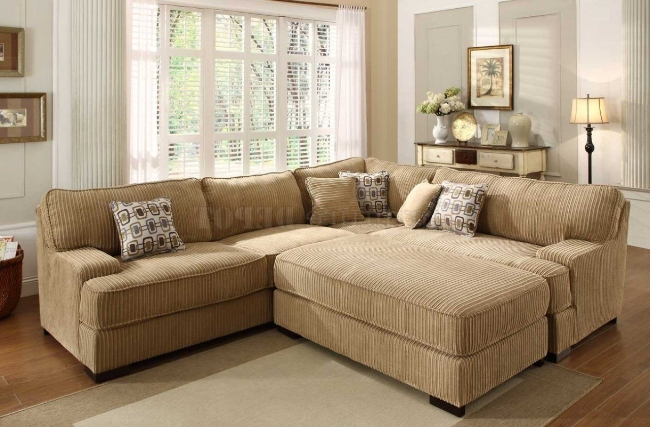 Fresh Large Sectional Sofa With Ottoman 25 Sofas And Couches Set With Most Recently Released Sectional Couches With Large Ottoman (View 8 of 20)