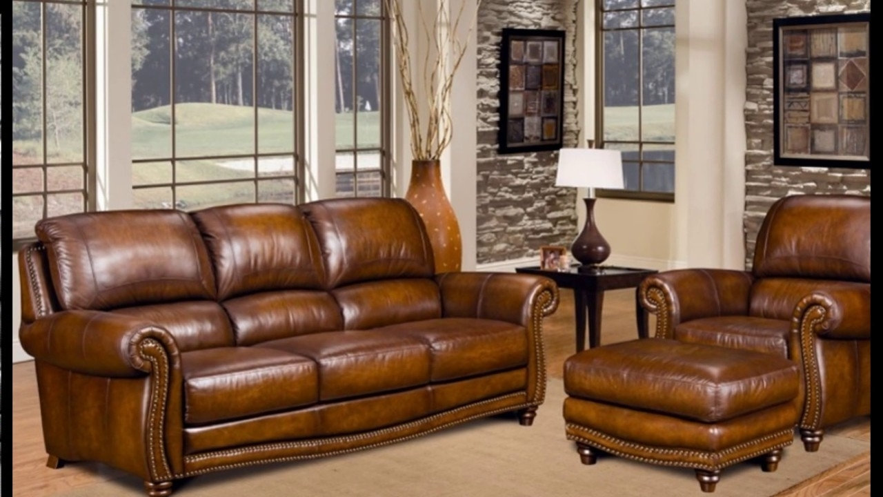 Full Grain Leather Sofas Intended For 2019 Splendid Full Grain Leather Sofa Ideas For Your Living Room (View 7 of 20)