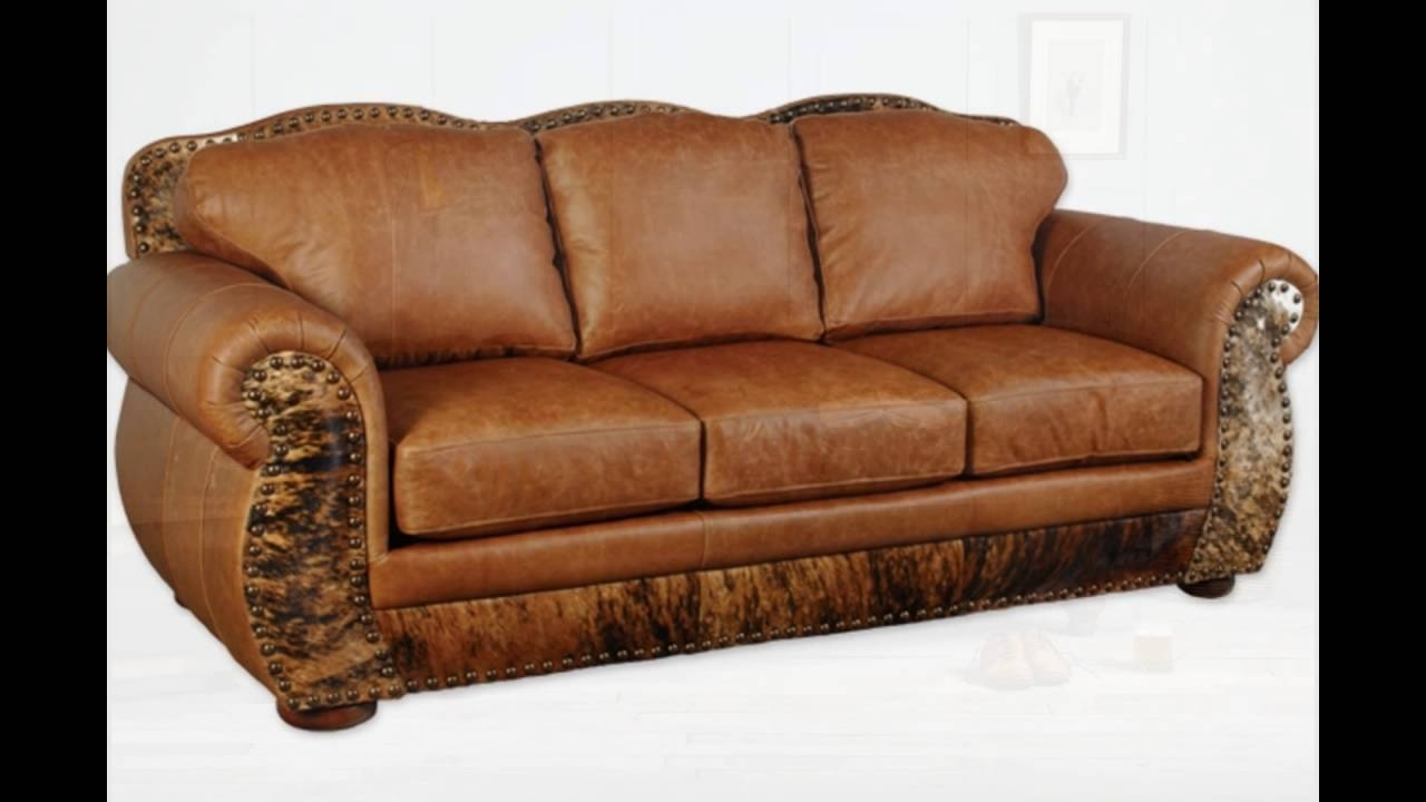 Full Grain Leather Sofas Throughout Most Current Full Grain Leather Sofa – Youtube (View 2 of 20)