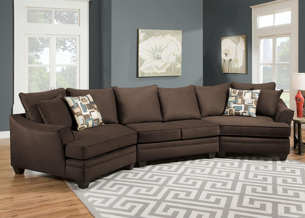 Functionalities Intended For Widely Used Sectional Sofas With Cuddler (View 7 of 20)
