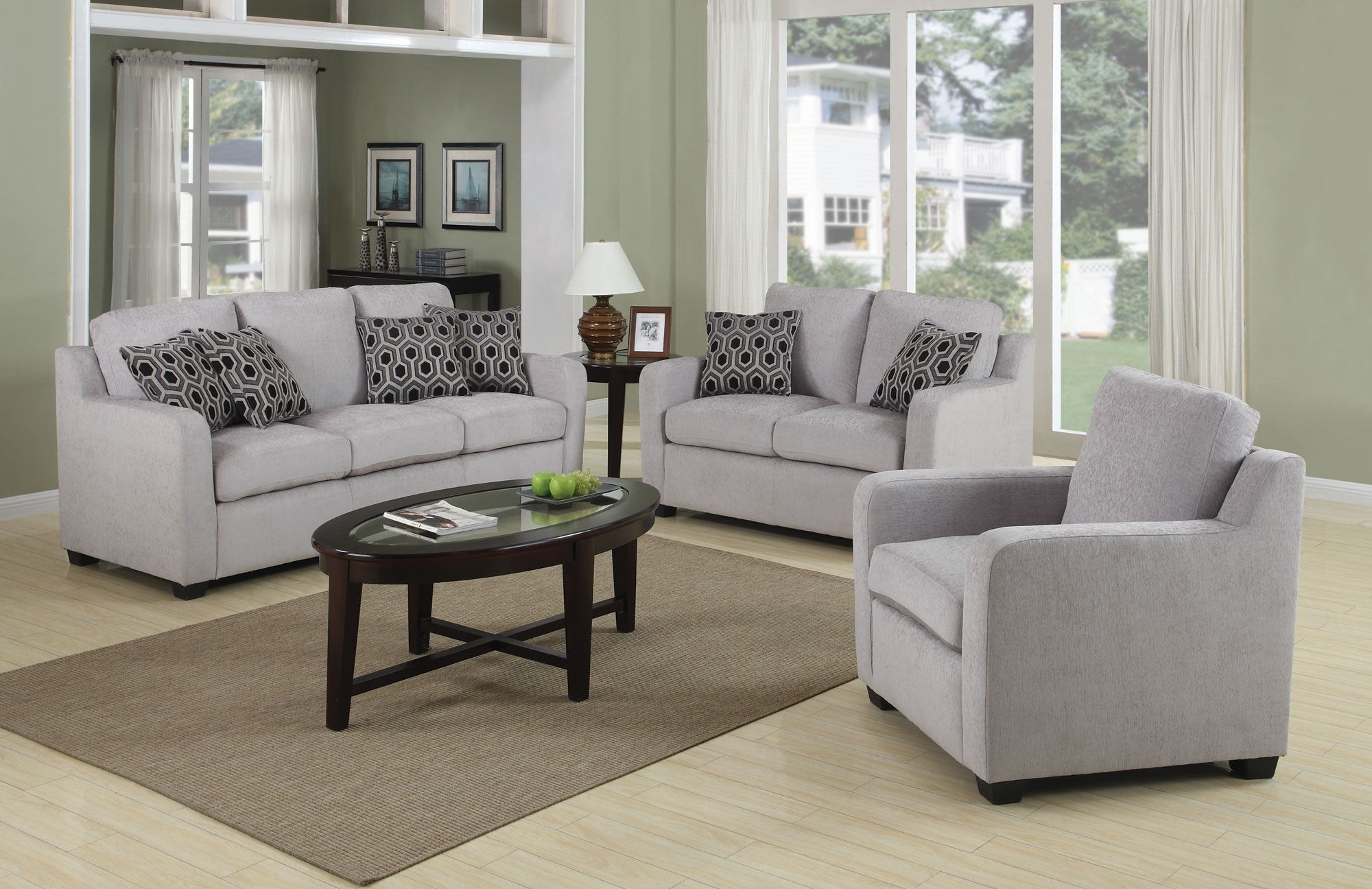 Furniture: Amazing Set Of Chairs For Living Room Complete Living Regarding Recent Living Room Sofa Chairs (View 6 of 20)