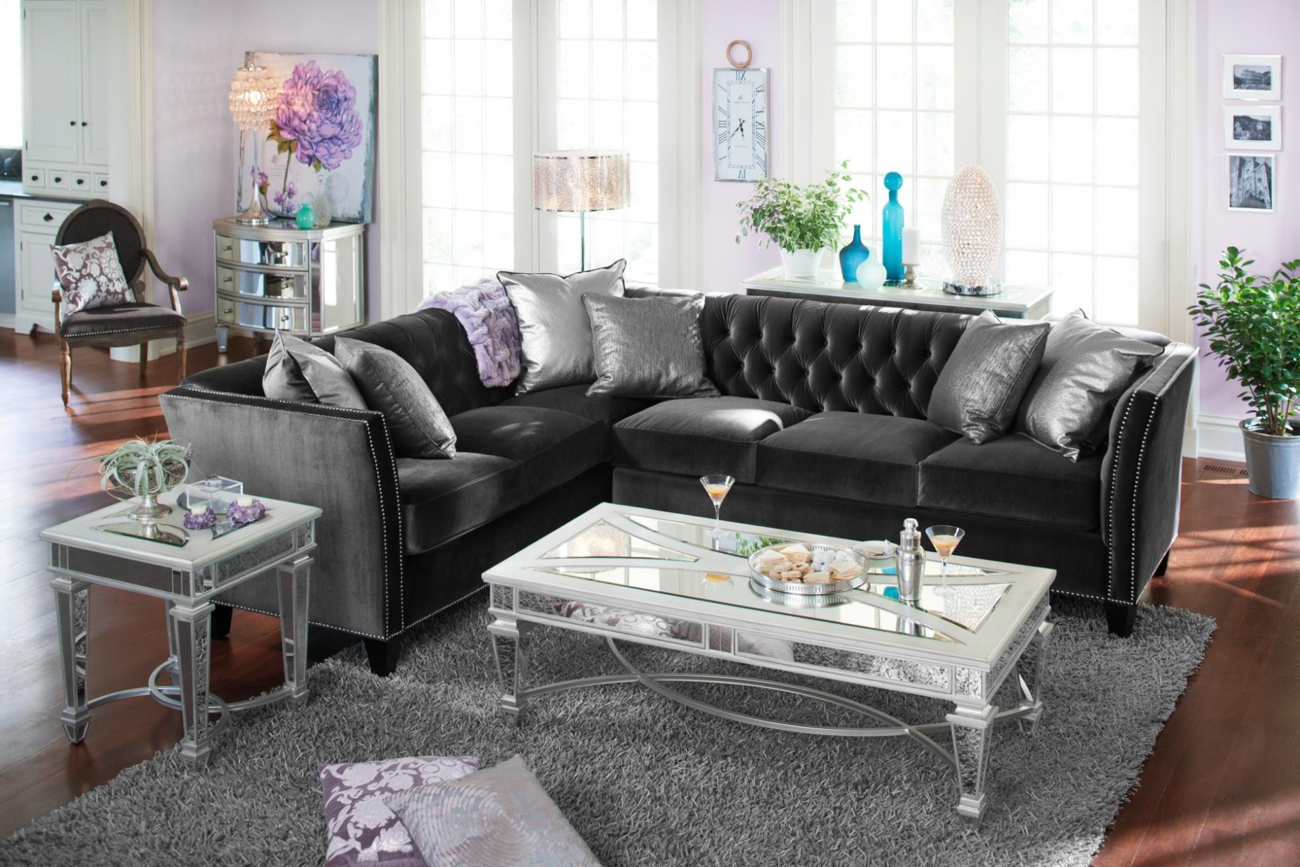 Furniture: Beautiful Ideas Value City Furniture Sectionals Within Preferred Value City Sectional Sofas (View 3 of 20)