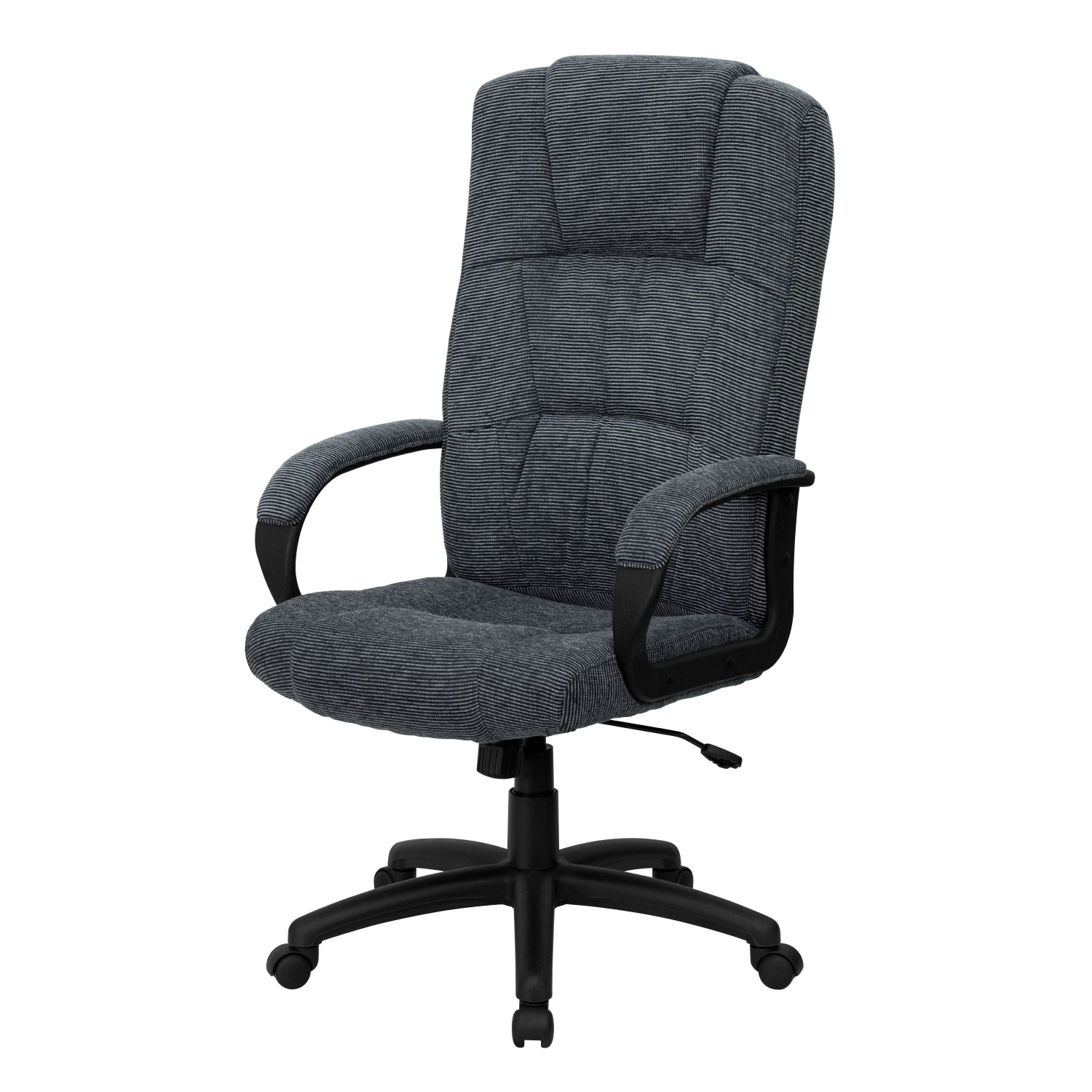 Furniture Bt 9022 Bk Gg High Back Gray Fabric Executive Office Chair Throughout Most Popular Fabric Executive Office Chairs (View 11 of 20)