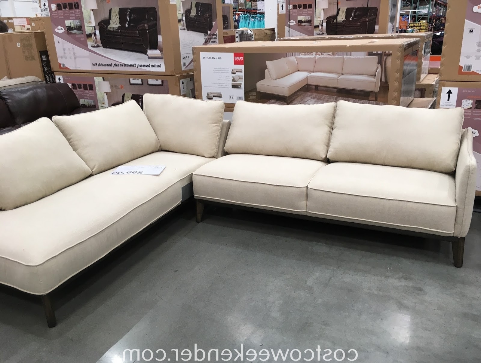 Merveilleux Furniture : Costco Furniture Reviews 2017 New Best Quality Within Most  Current Quality Sectional Sofas (
