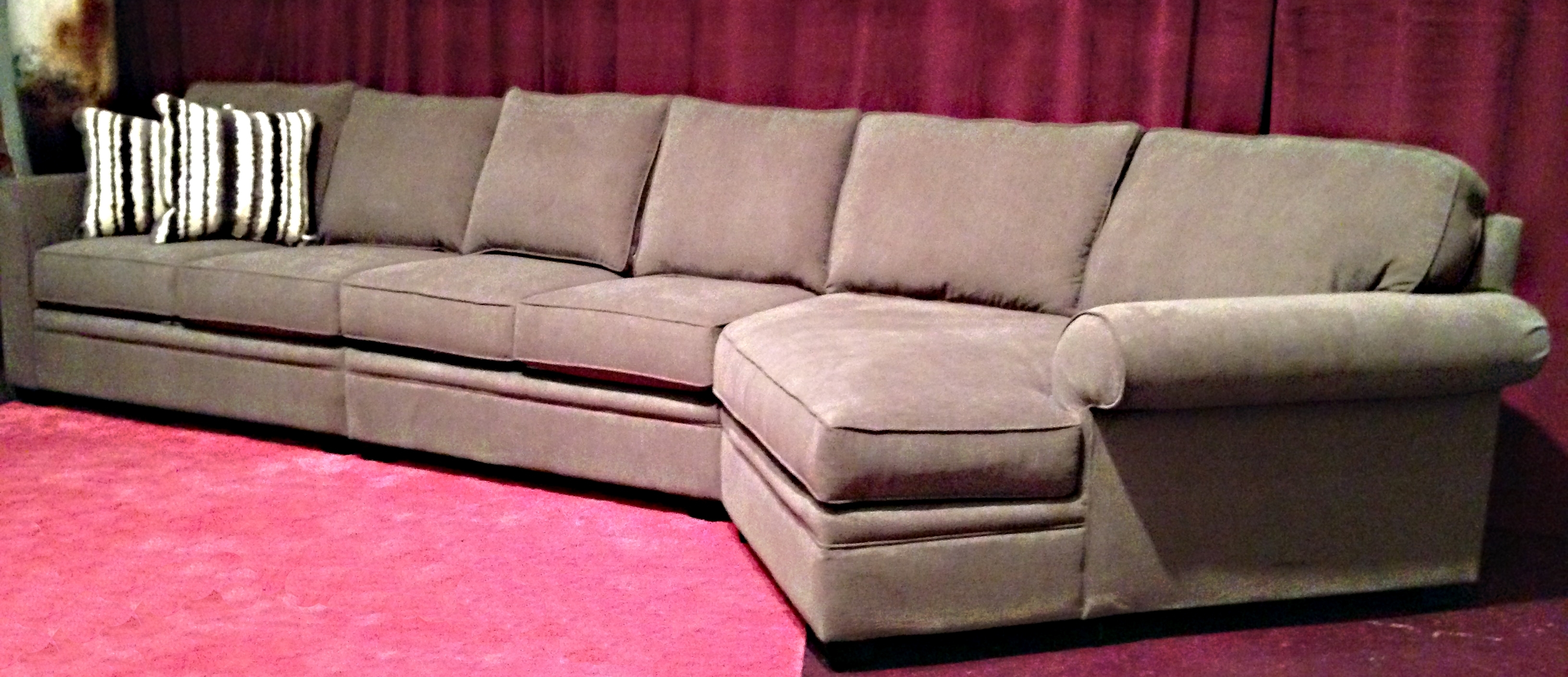Furniture Extra Large Sofa Oversized Couch Deep Cushion Couch From In Preferred Deep Cushion Sofas (View 11 of 20)