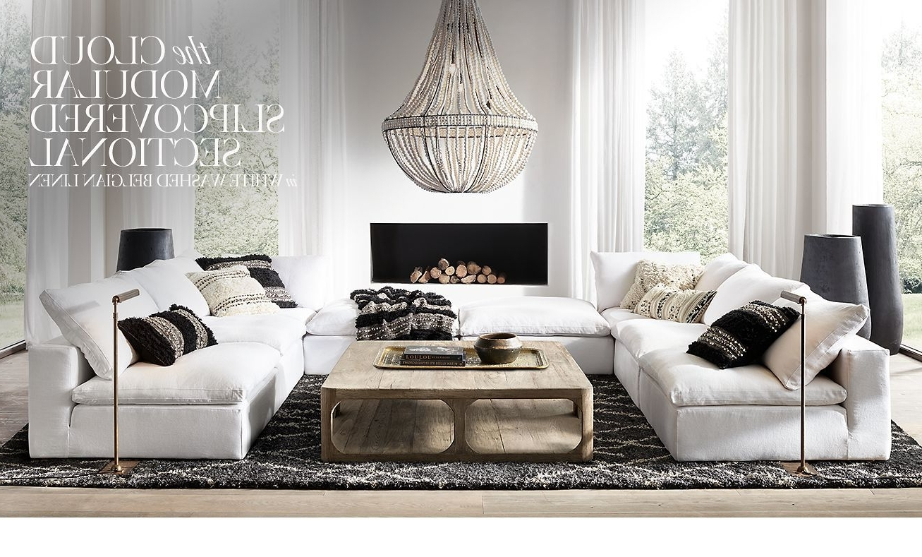 Furniture Intended For Most Popular Restoration Hardware Sectional Sofas (View 18 of 20)