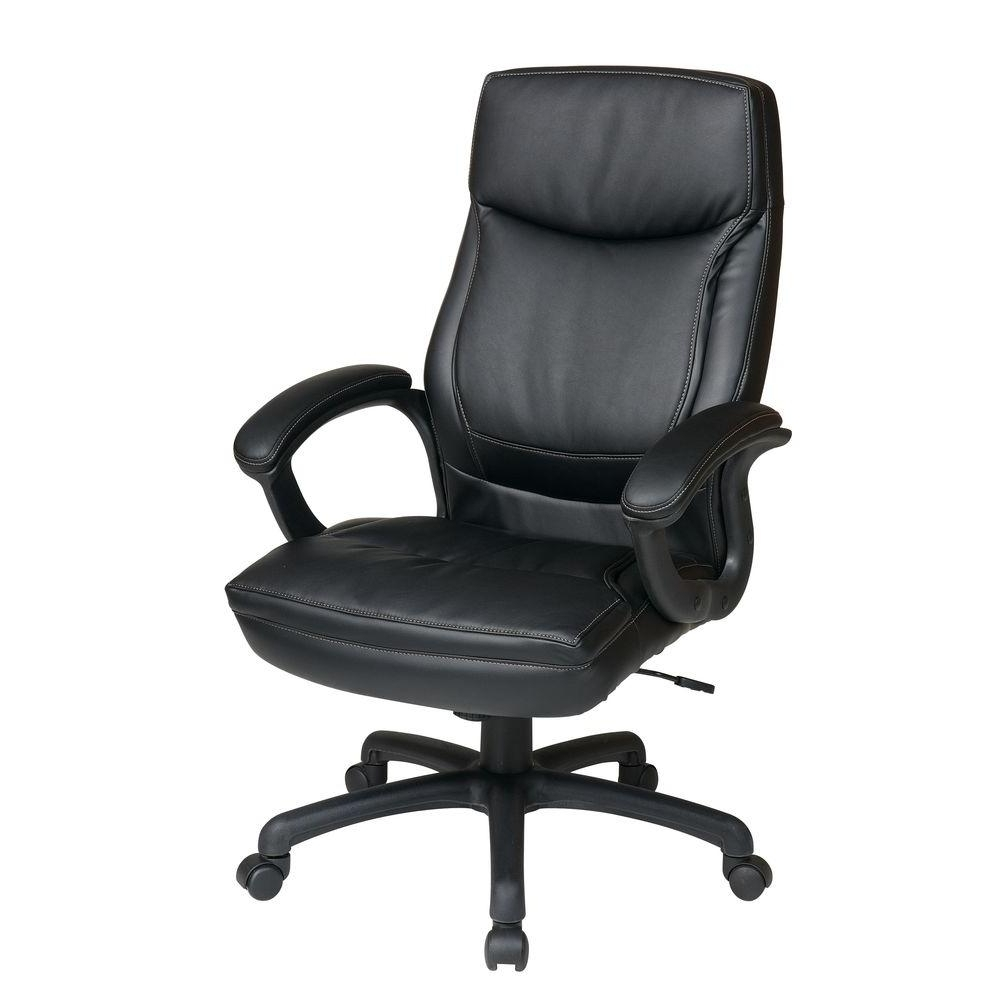 Furniture : Leather Office Chairs Without Arms Office Chair Store With Regard To Preferred Executive Office Chairs Without Arms (View 7 of 20)