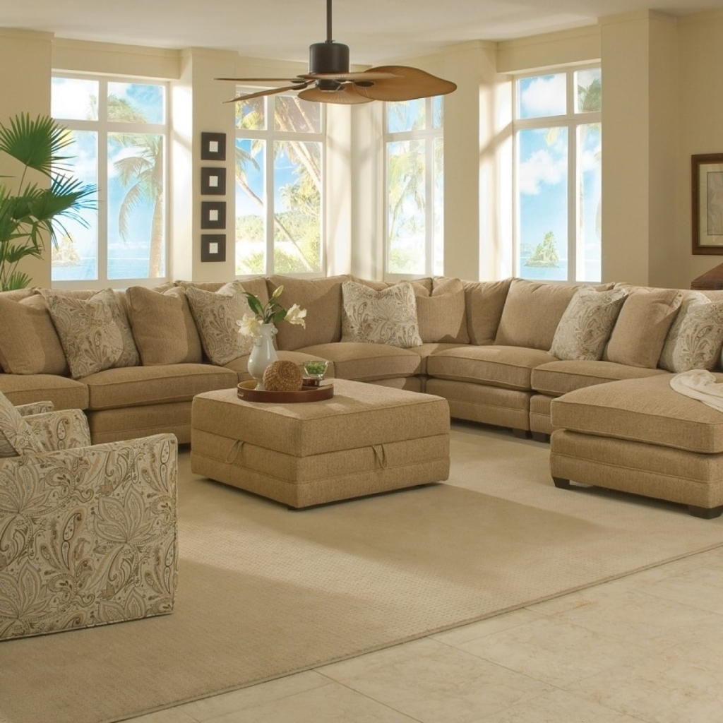 Furniture : Sectional Couch With Ottoman Sectional Sofa Cheap Intended For Well Liked Sectional Sofas Under  (View 3 of 20)