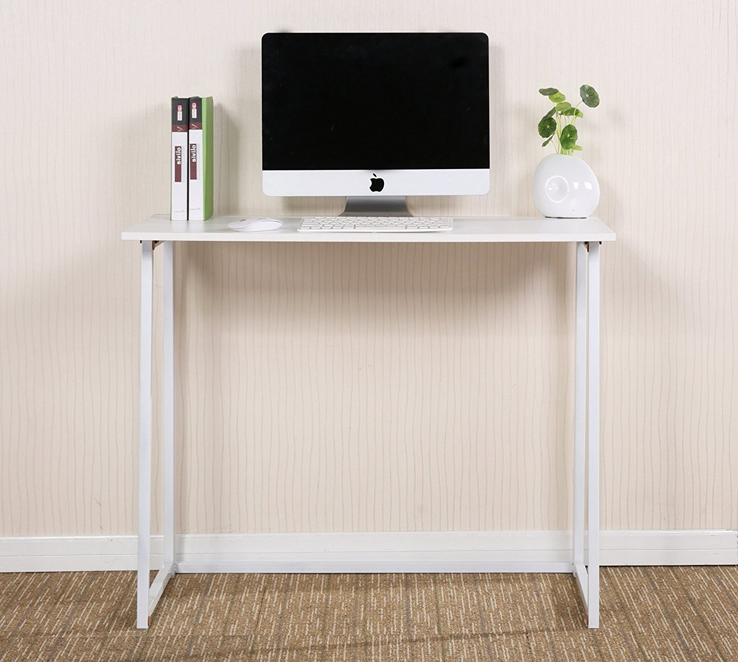 Furniture : Wooden Folding Desk Small Fold Down Desk Folding With Regard To 2019 Assembled Computer Desks (View 15 of 20)