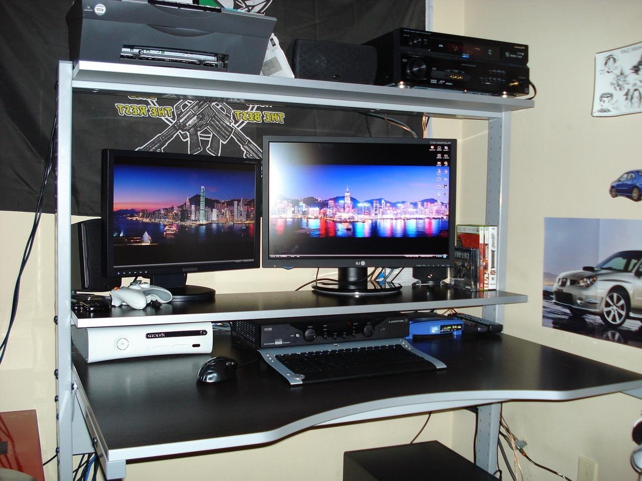 Gaming Computer Desks Inside Current Yxvy4U5 Jpg 1 Impressive Reddit Computer Desk Interior (Gallery 17 of 20)