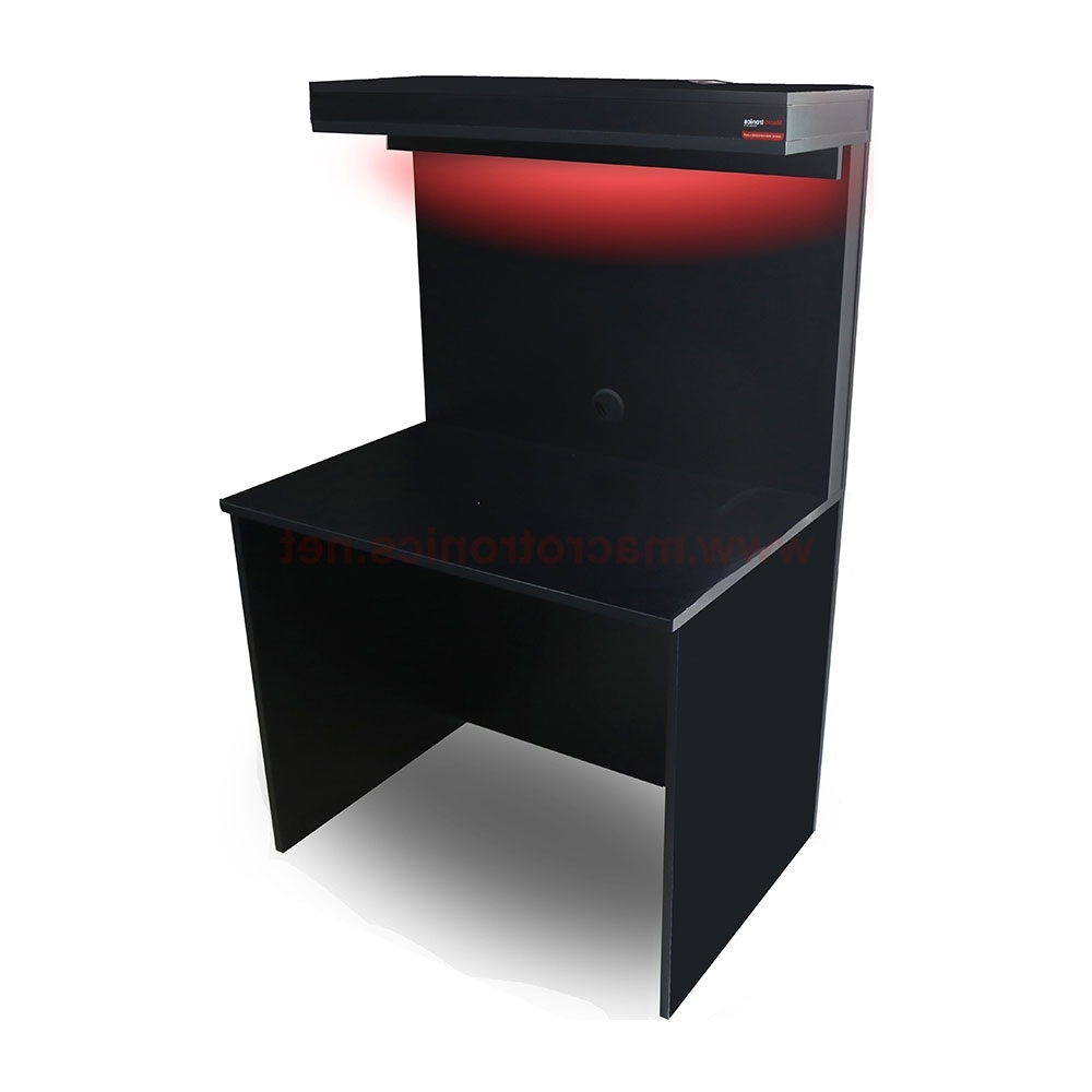Gaming Computer Desks With Most Recently Released Macropower Gaming Computer Desk – Gaming Chairs And Desks (Gallery 9 of 20)