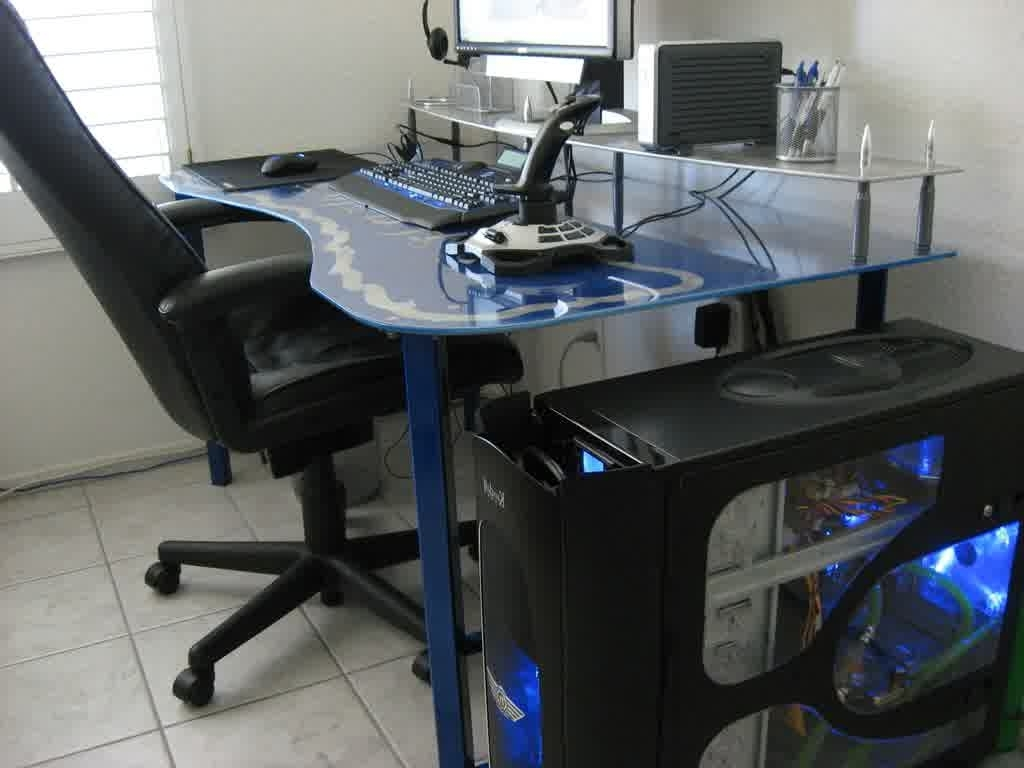 Gaming Computer Desks With Regard To Favorite Excited Best Amazon Computer Desk Products For Gamers (View 11 of 20)