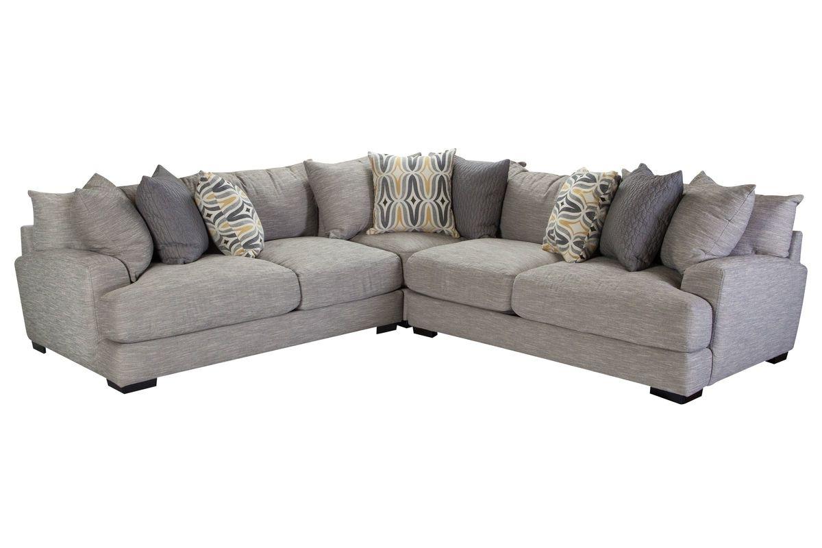 Gardner White Sectional Sofas In Popular Barton 3 Piece Sectional At Gardner White (View 4 of 20)