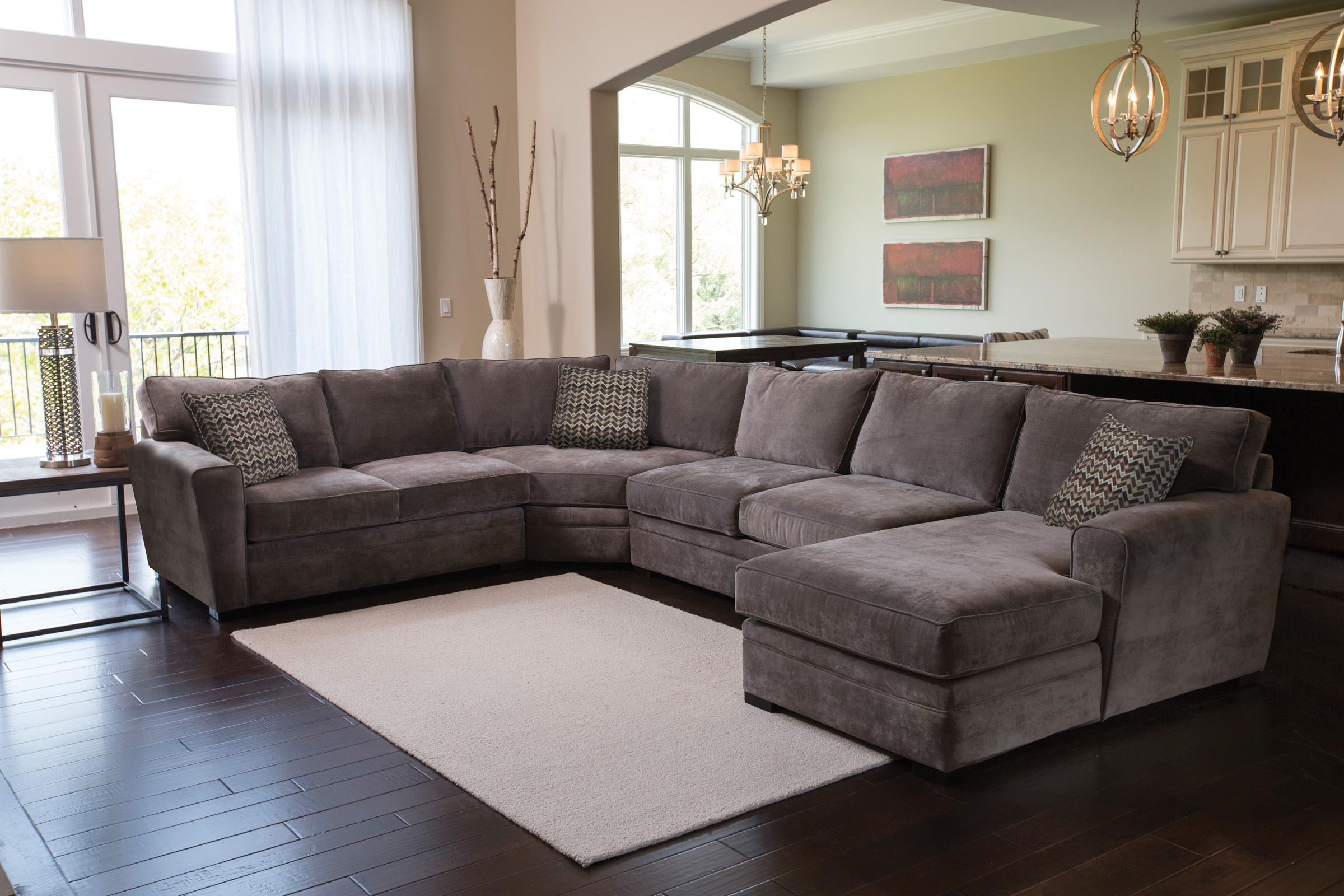 Gardner White Sectional Sofas Inside Latest Breezejonathan Louis Living Room Collection (Gallery 13 of 20)