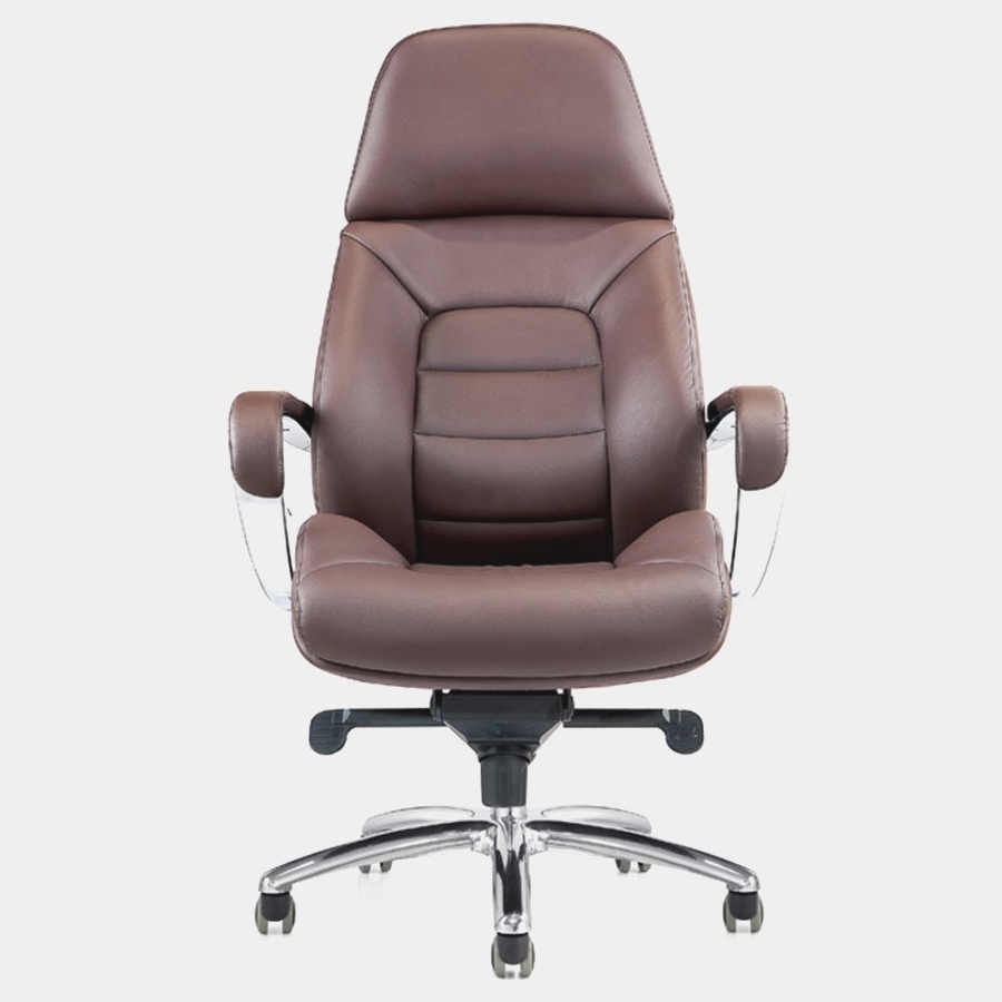 Genuine Leather Executive Office Chairs Intended For Best And Newest Lovely Genuine Leather Office Chair (View 6 of 20)