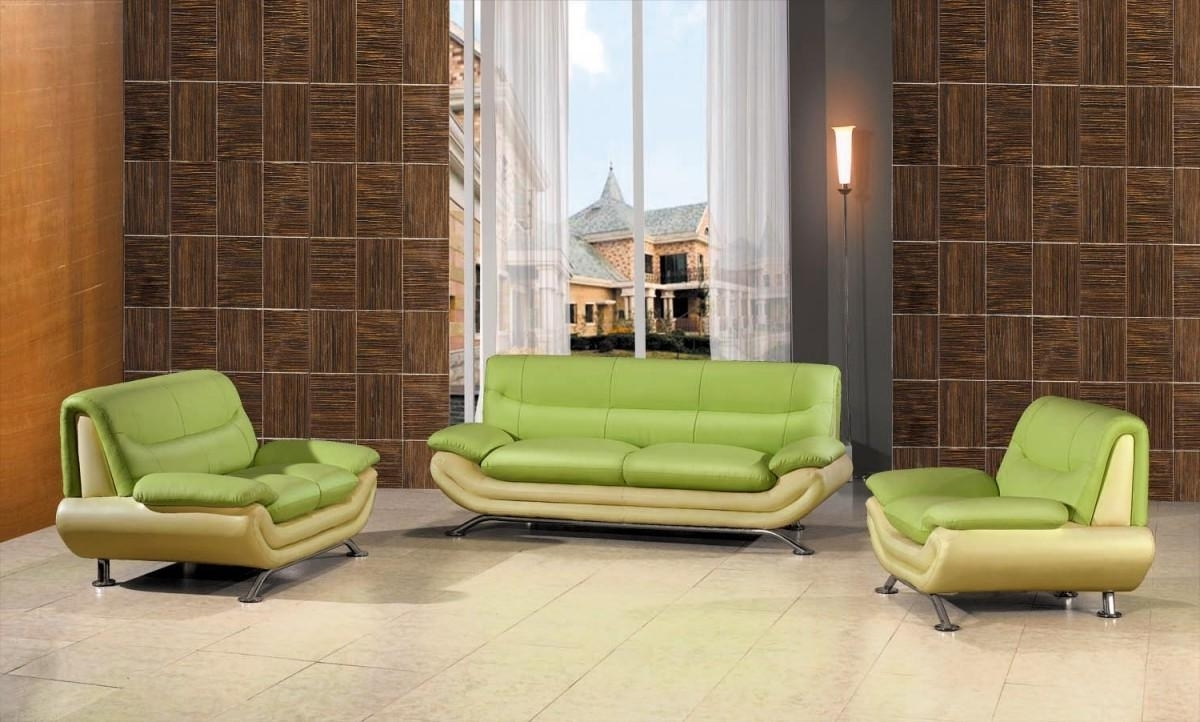 Get Your Living Space A Nice Color Splash With Cool Green Sofa For Well Liked Green Sofa Chairs (View 6 of 20)