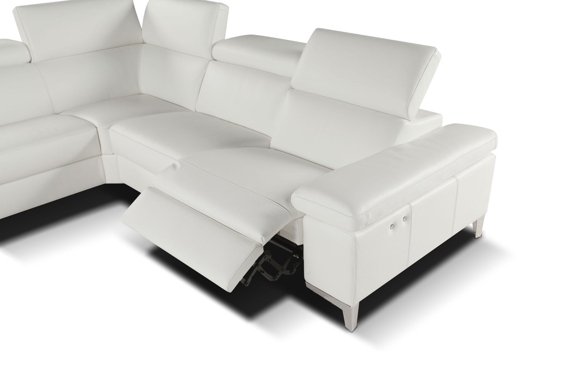 Giuseppe&giuseppe Pertaining To Modern Reclining Leather Sofas (View 4 of 20)