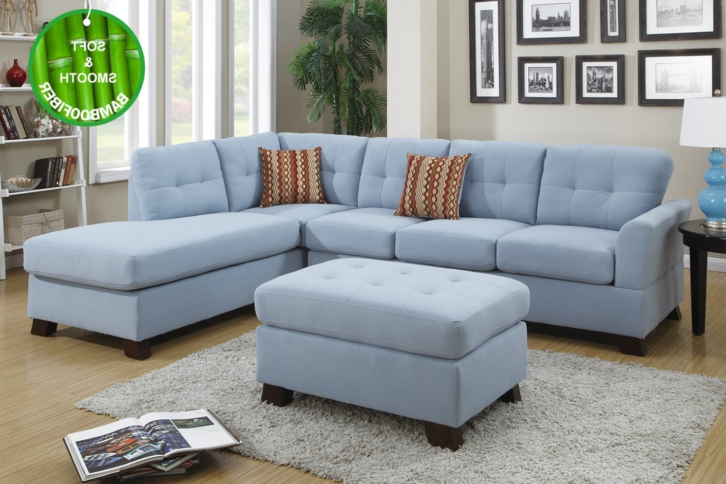 Good Blue Sectional Sofa 45 Modern Sofa Inspiration With Blue In Most Current Blue Sectional Sofas (View 6 of 20)