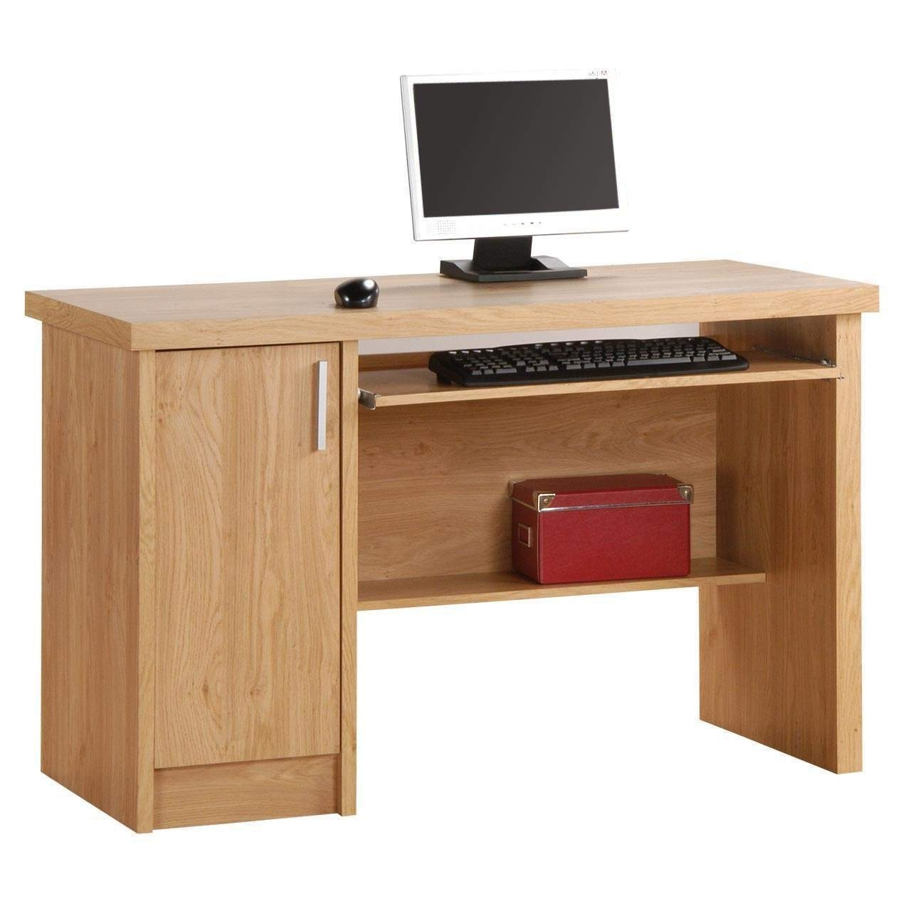 Good Corner Computer Desk Oak: 15 Cool Computer Desk Oak Throughout Most Recent Computer Desks In Oak (Gallery 14 of 20)