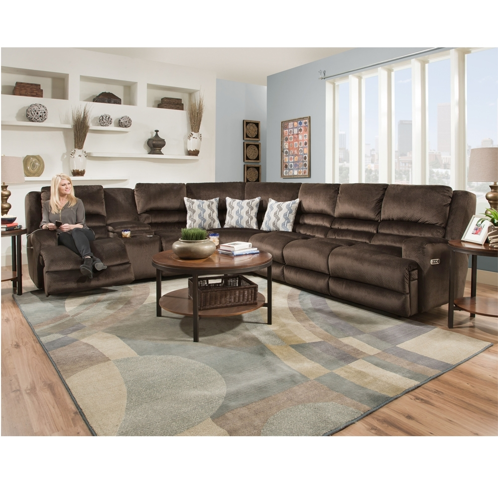 Grand Furniture Sectional Sofas Throughout Popular 775 Grand Slam Sectional – Power Standard – Franklin Furniture Product (View 6 of 20)