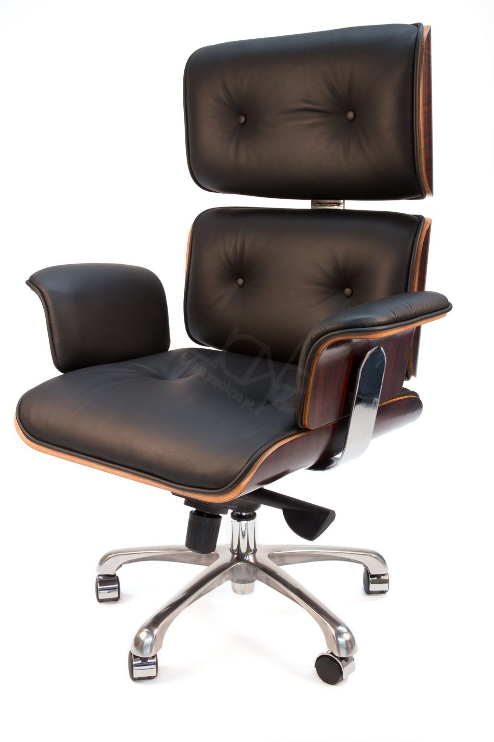Green Leather Executive Office Chairs Pertaining To Well Known Office Chairs : Comfortable Leather Desk Chair Heated Office Chair (Gallery 2 of 20)