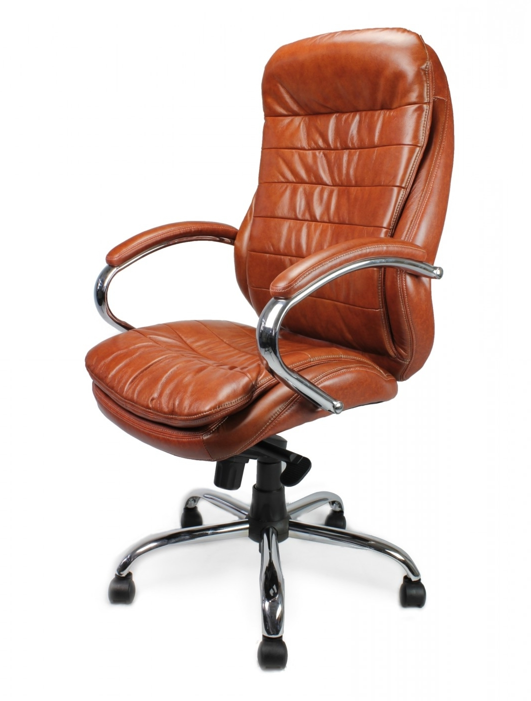 Green Leather Executive Office Chairs Pertaining To Well Liked Chair : Leather And Wood Executive Office Chair Executive Leather (Gallery 8 of 20)
