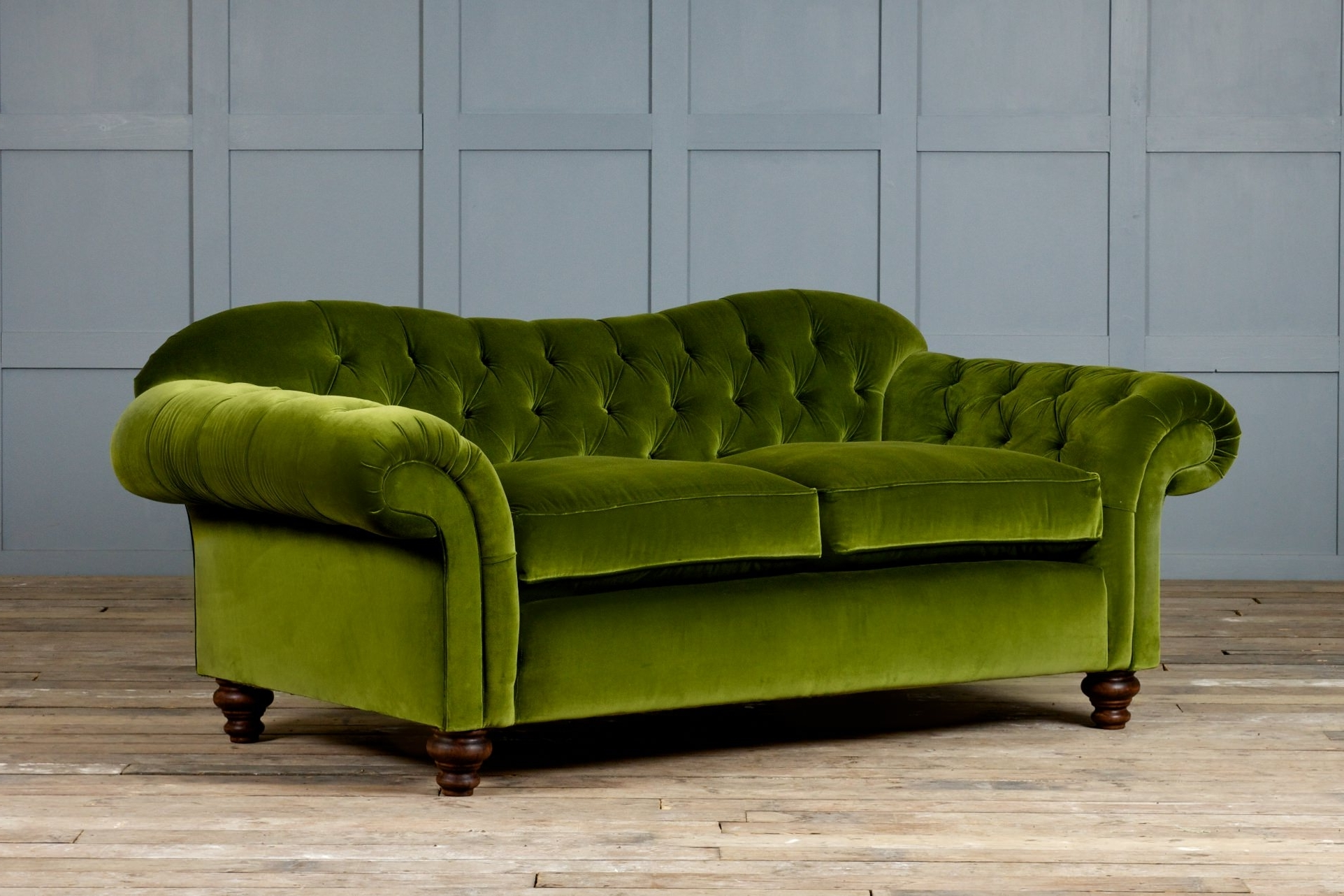 Green Sofa Chairs For Most Current Furniture : Perfect Green Velvet Couch 85 In Modern Sofa Ideas (View 5 of 20)