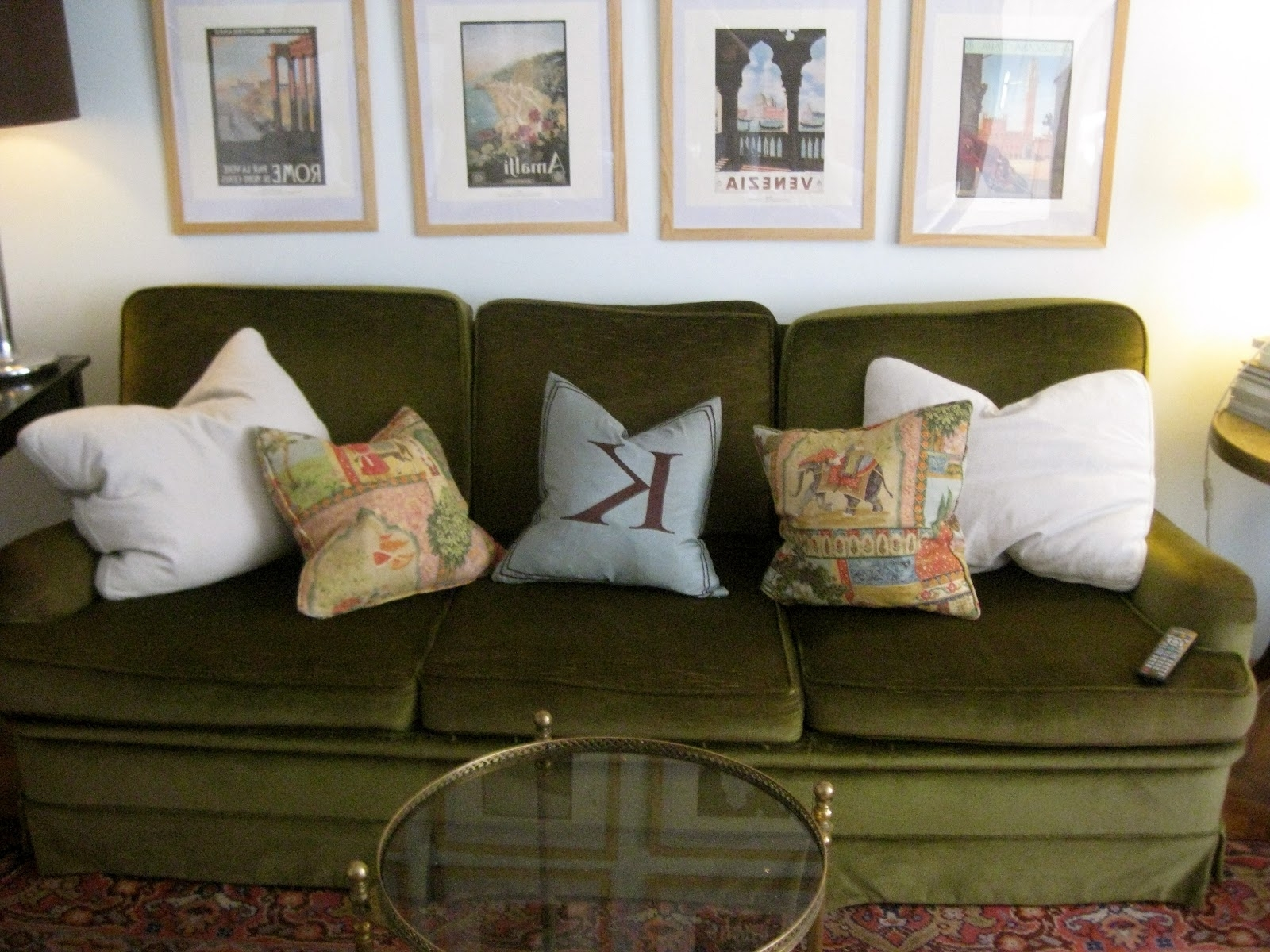 Green Sofa Chairs Pertaining To Newest Furniture : Fancygreenleathercouchdecoratingideas81Inwithgreen Of (View 11 of 20)