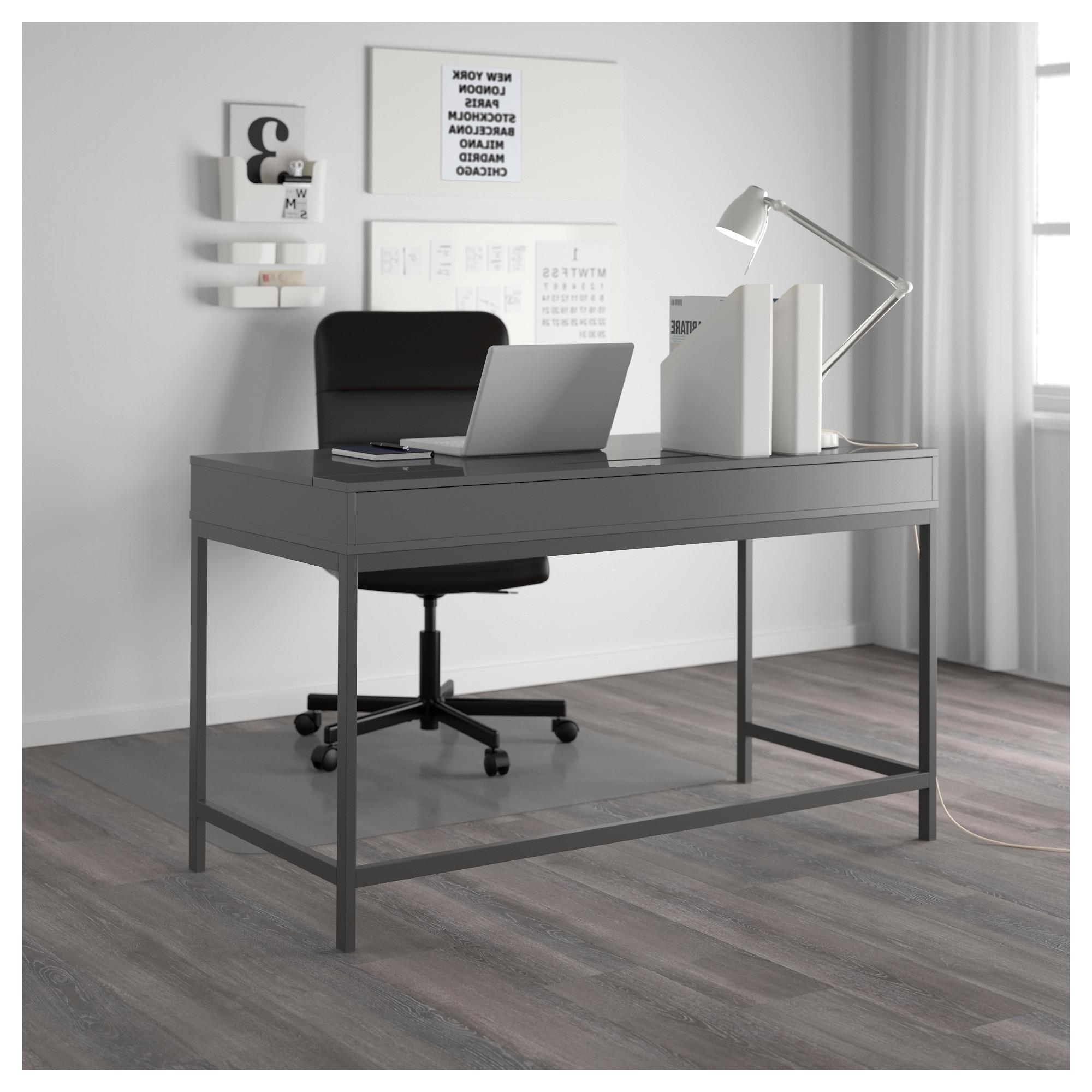 Grey Computer Desks For 2019 Alex Desk – Gray – Ikea (Gallery 3 of 20)