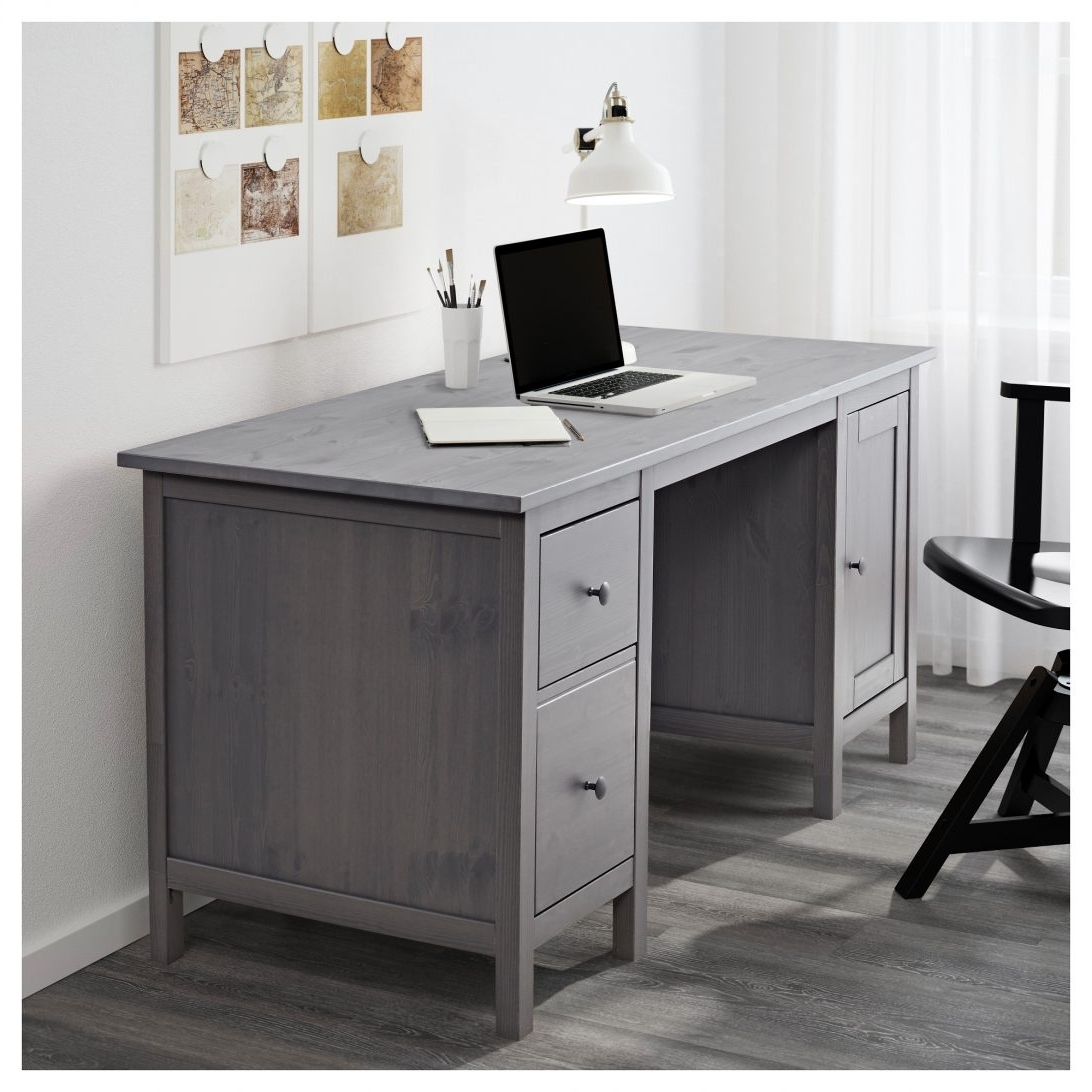 Grey Computer Desks For Trendy 70 Most Fantastic Antique Writing Desk Table White Grey Executive (View 13 of 20)