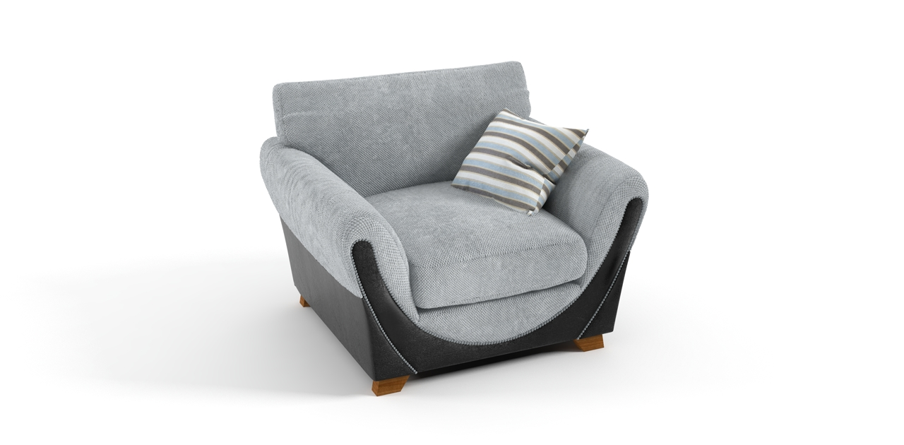 Grey Sofa Chairs Regarding Well Known Joker Chair Grey Black Sofa – Chairs (View 7 of 20)