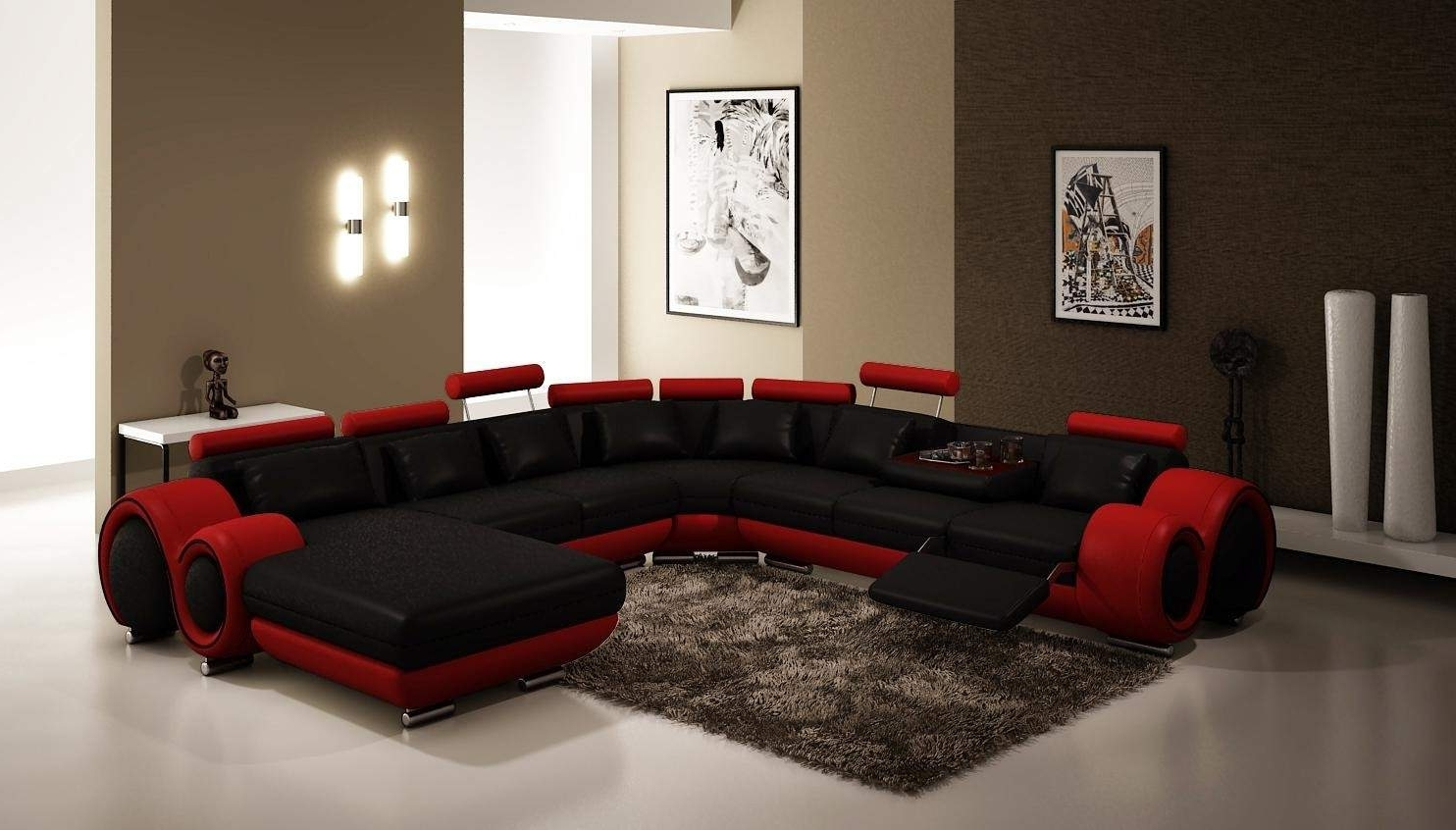Gta Sectional Sofas In 2019 Best Free Modern Sectional Sofa Gta #25321 (Gallery 7 of 20)