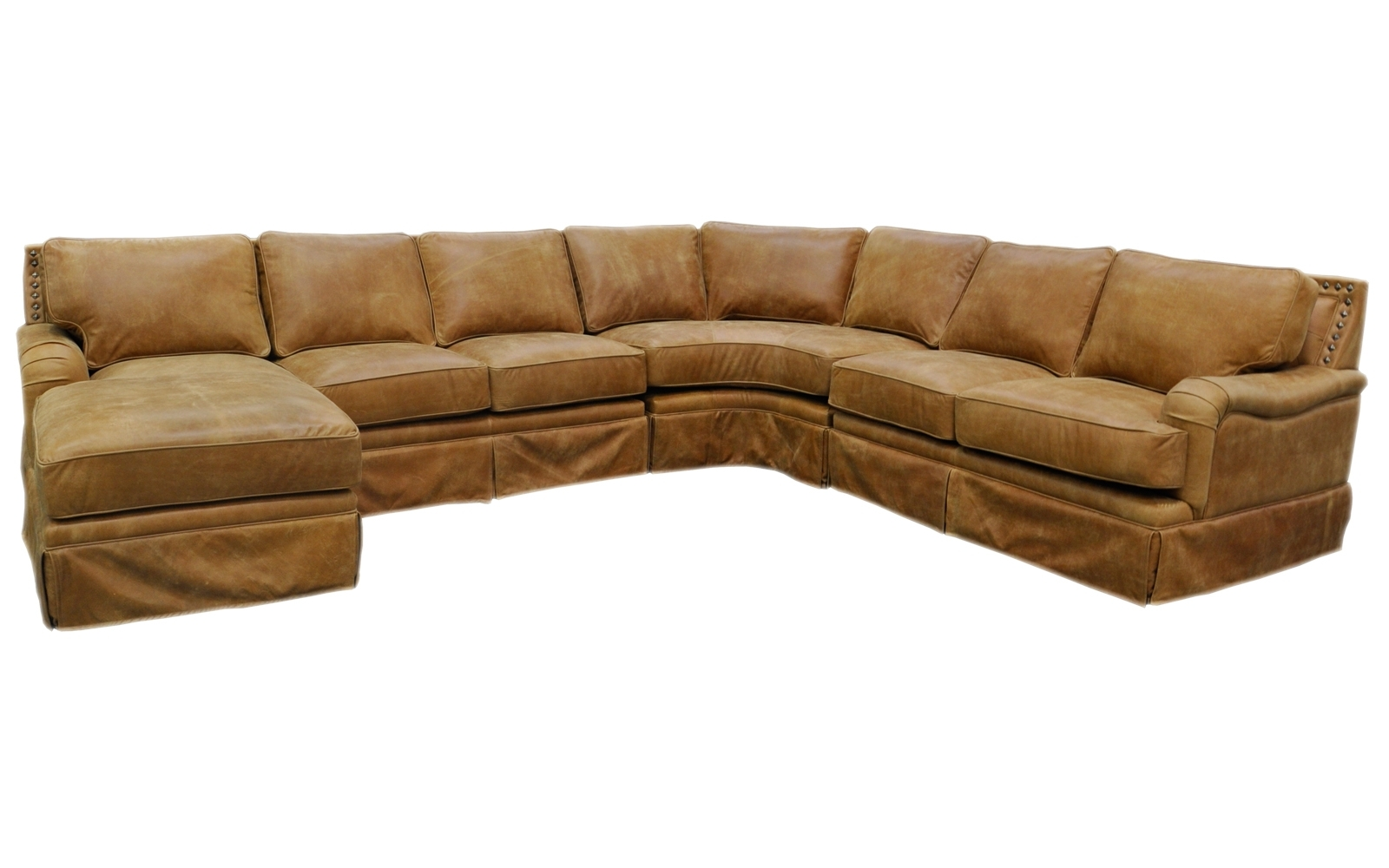 Hacienda Sectional – Omnia Leather With Well Liked High Point Nc Sectional Sofas (View 20 of 20)