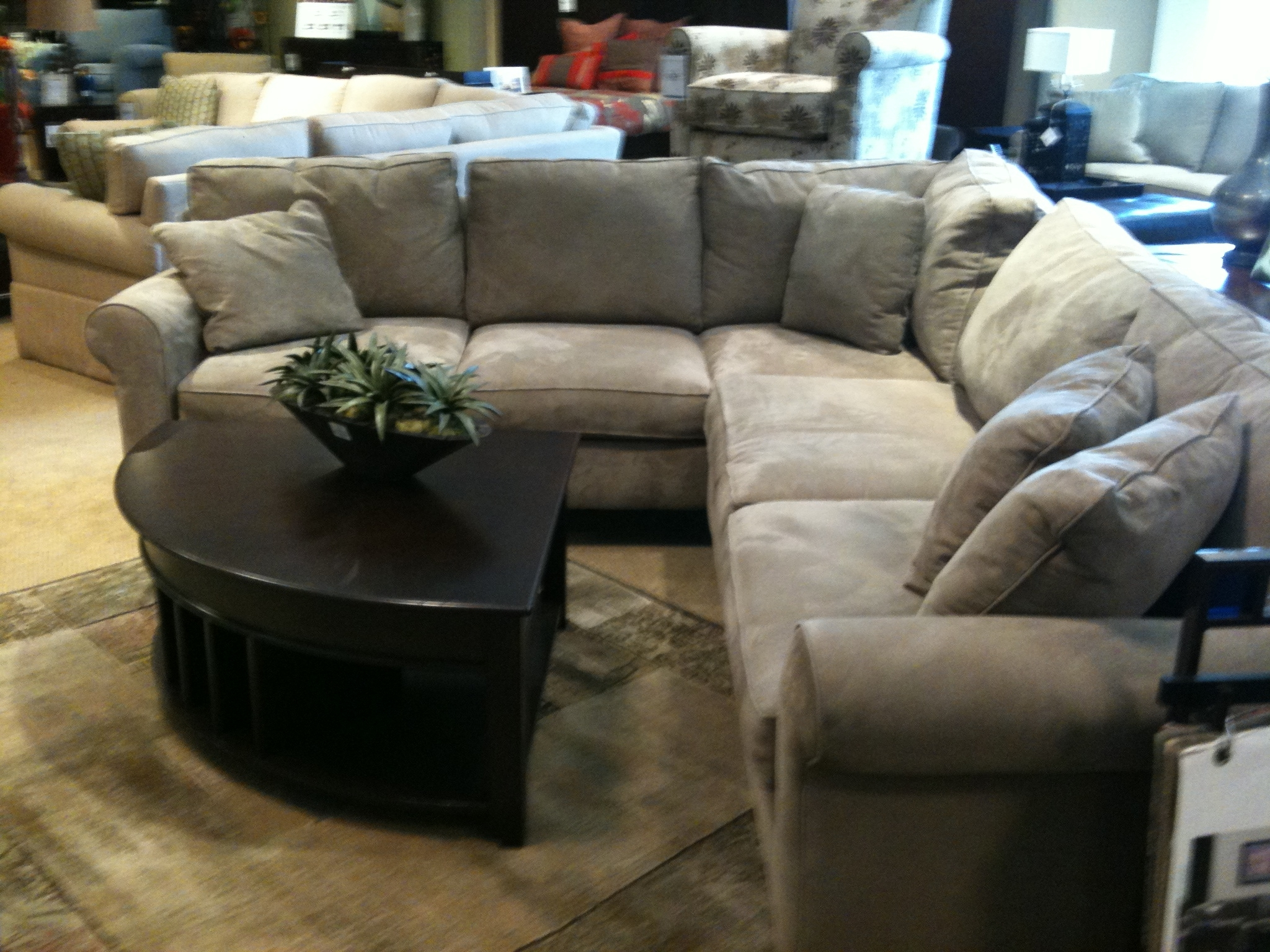 Havertys Furniture Leather Sleeper Sofa (View 6 of 20)