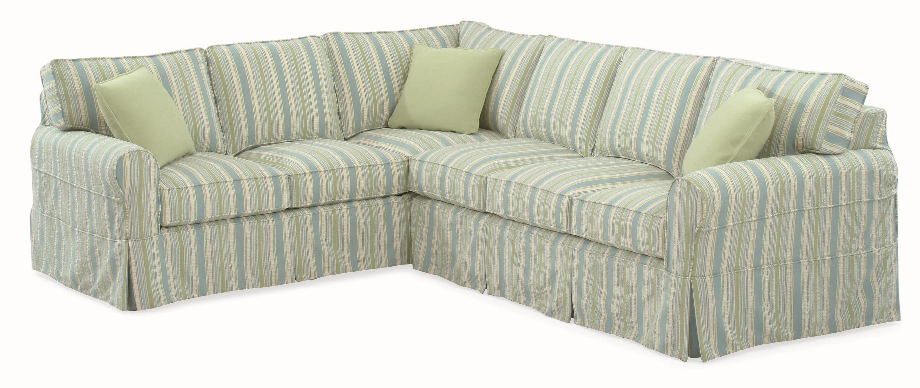 Havertys Sectional Sofas In Most Popular Braxton Culler 728 Casual Sectional Sofa With Rolled Arms And (View 6 of 20)