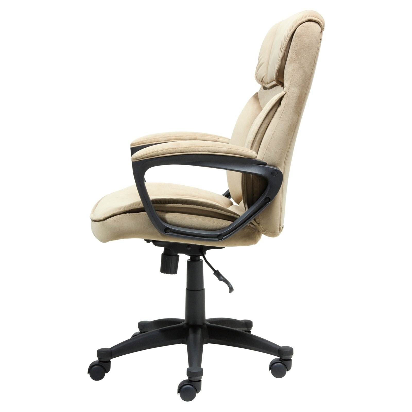 Hayneedle Throughout Light Beige Microfiber Executive Office Chairs (View 8 of 20)