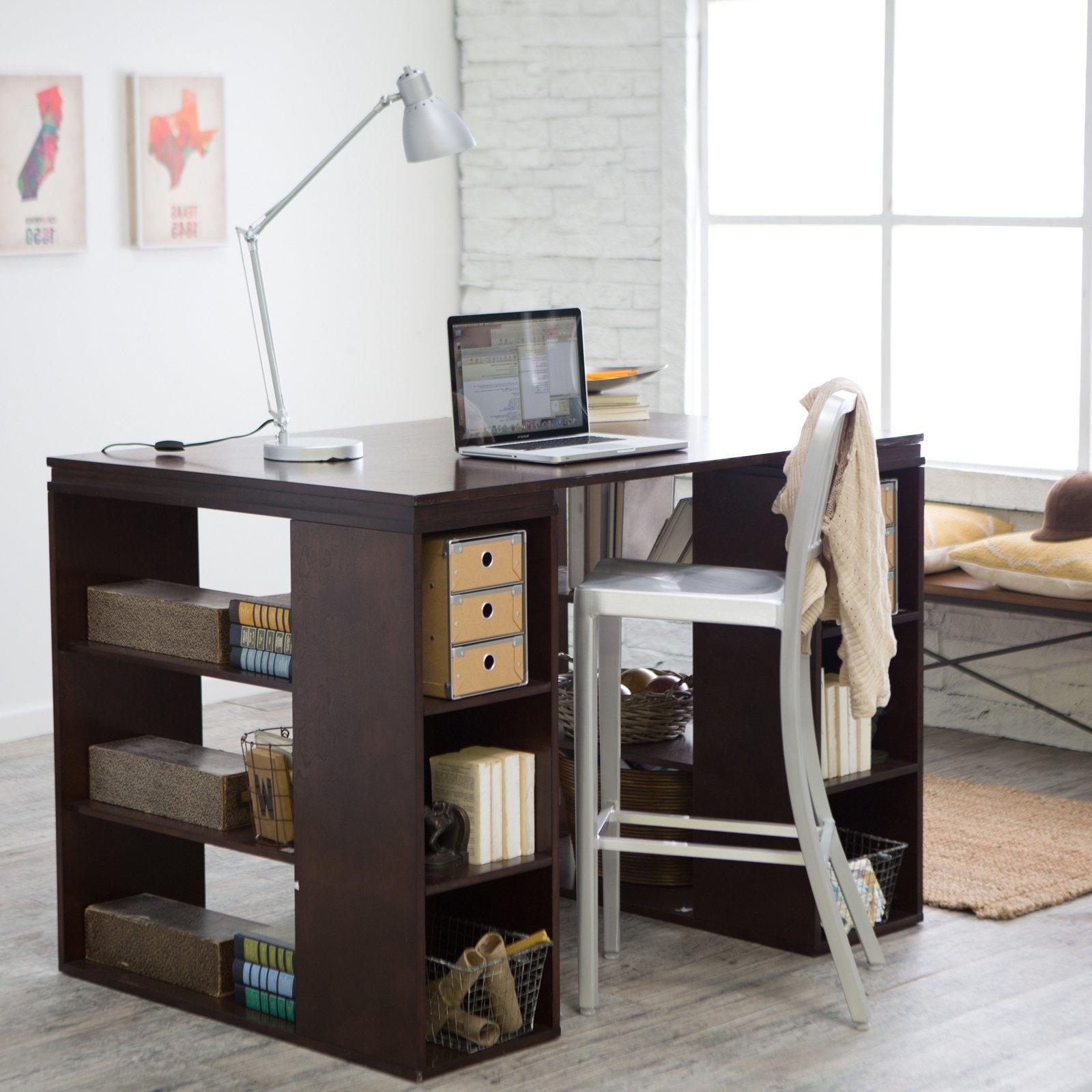 Hayneedle Within Espresso Computer Desks (View 17 of 20)